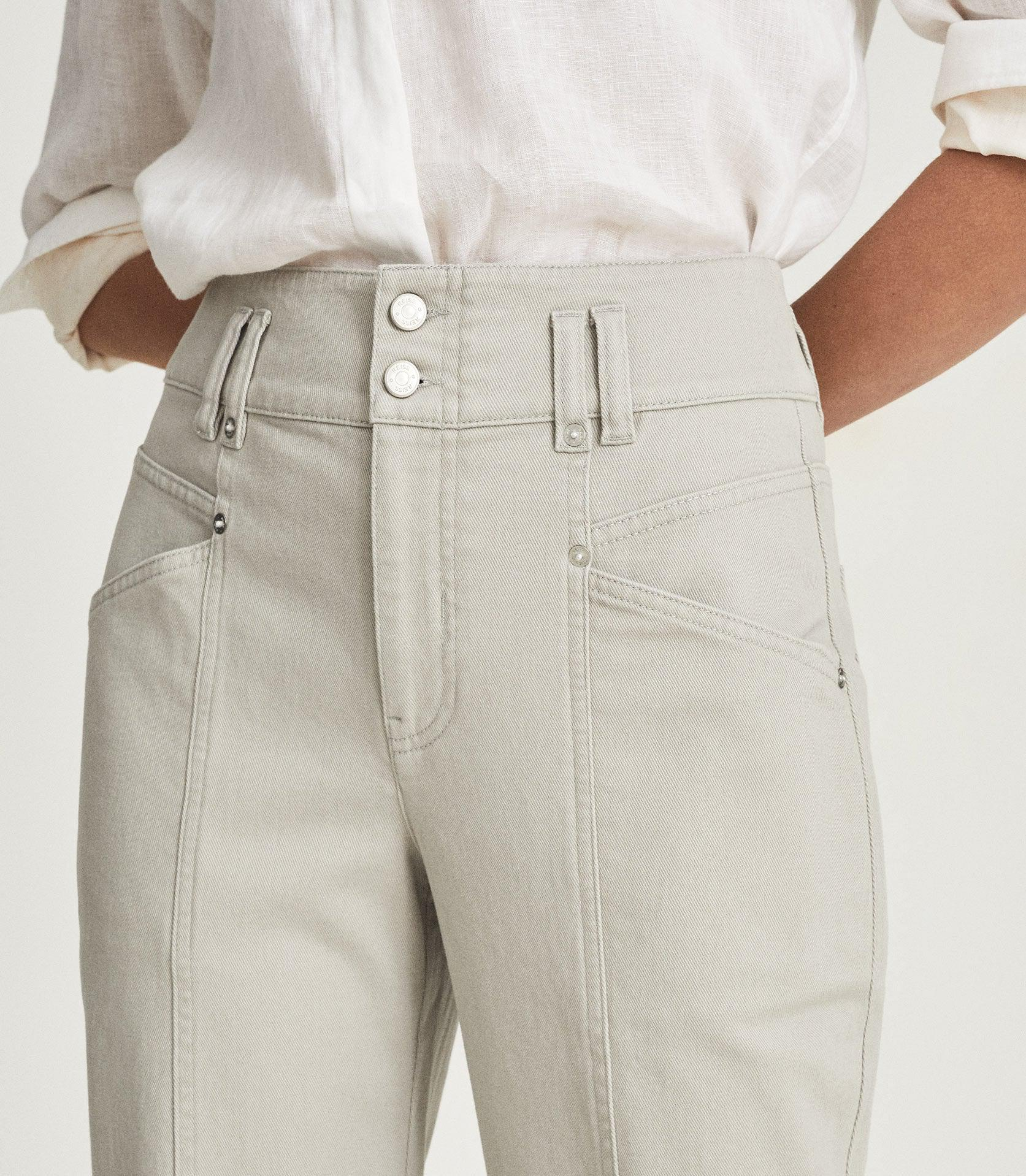 BAXTER - RELAXED TAPERED FIT TROUSERS 4