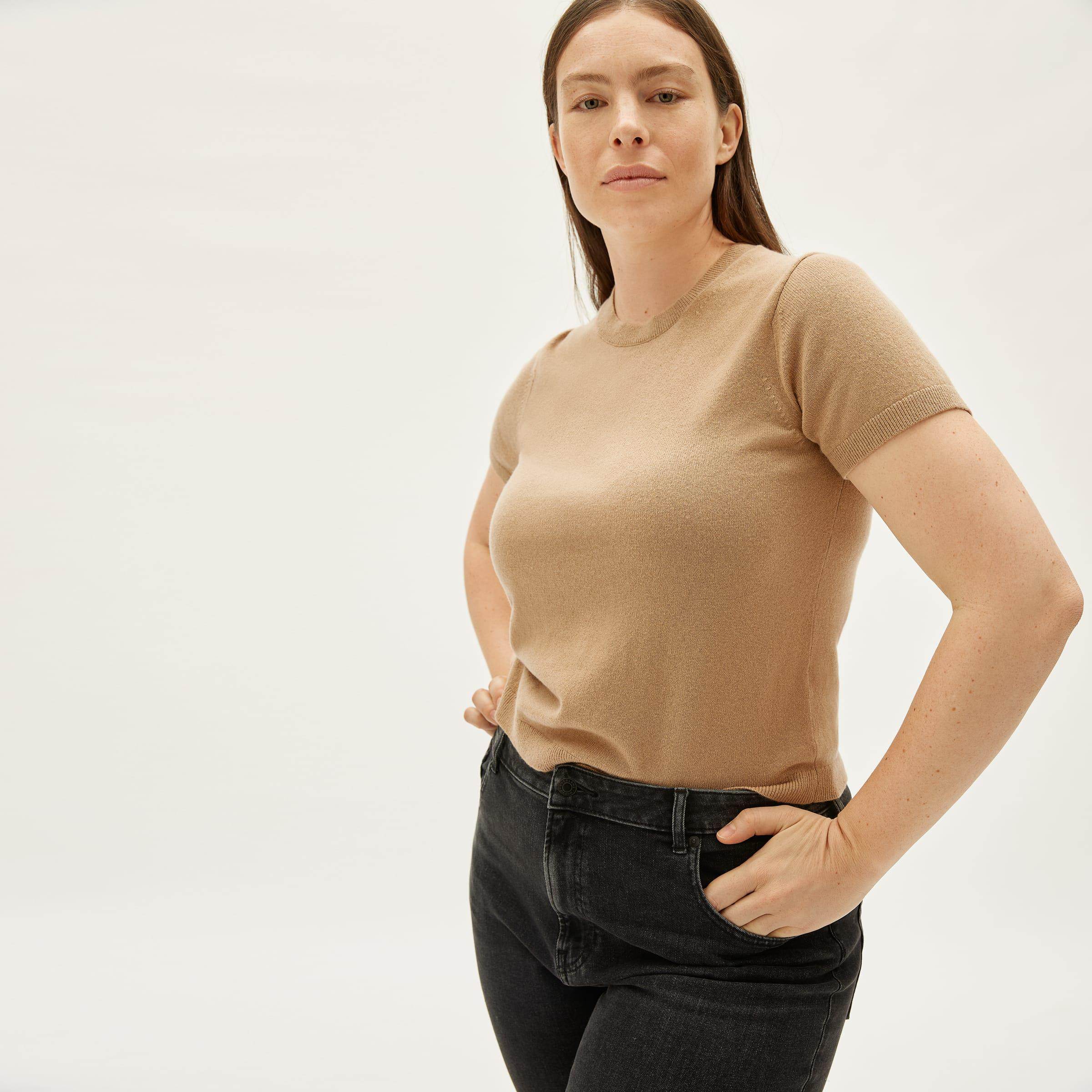 The Cashmere Sweater Tee