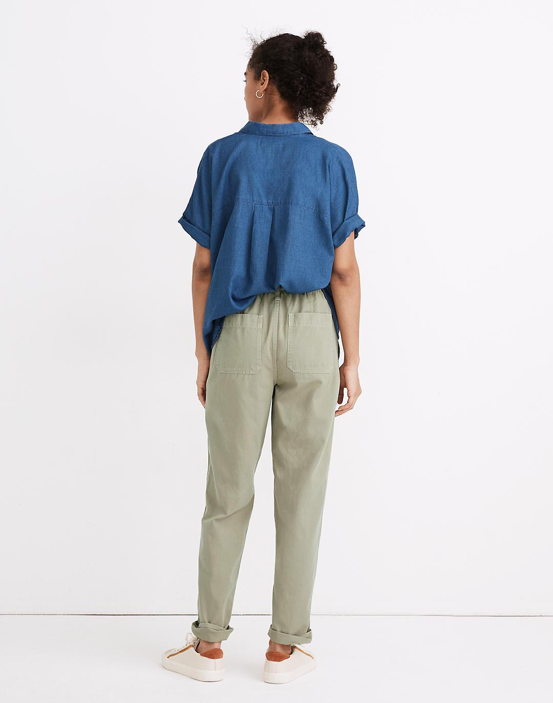 Pull-On Relaxed Pants 1