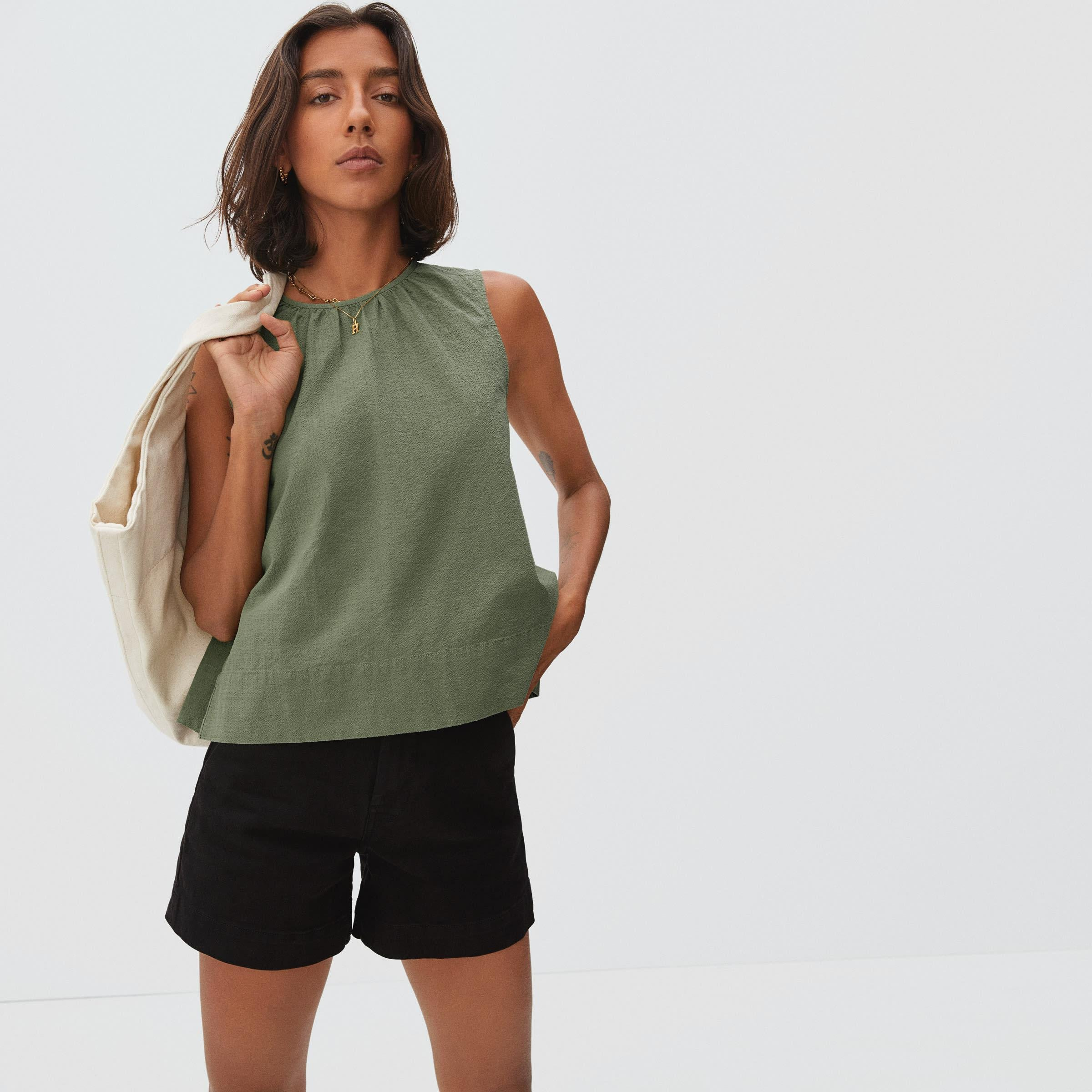 The Tie-Back Top