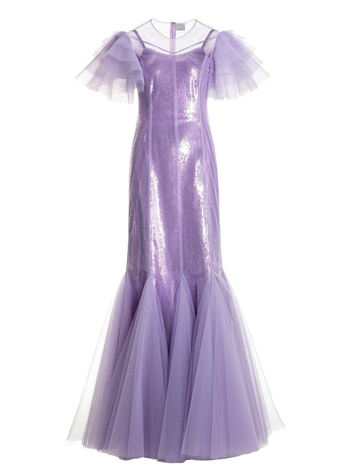 AURORA GOWN LILAC TULLE 10