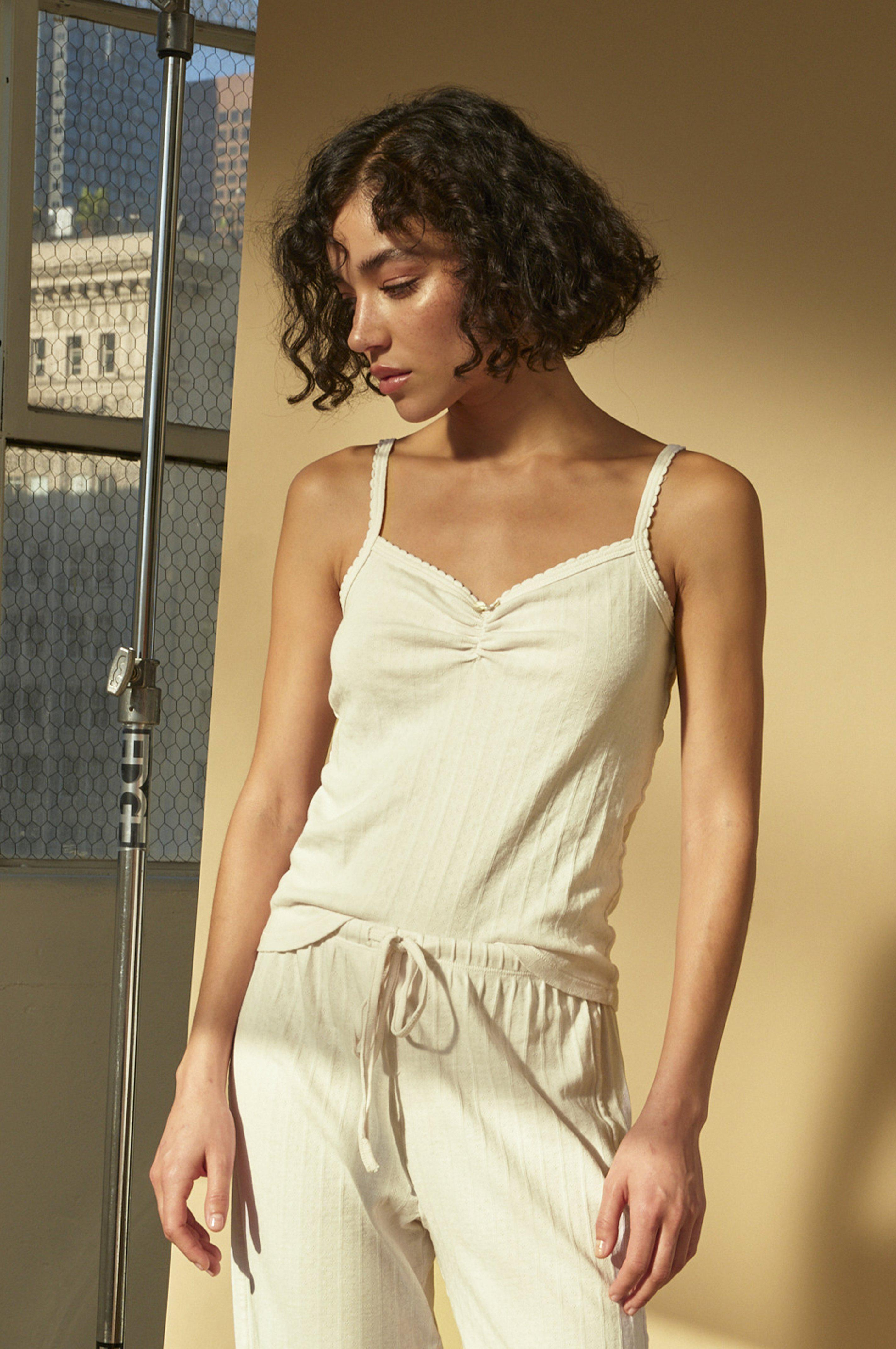 SWEETHEART CAMI OFF WHITE
