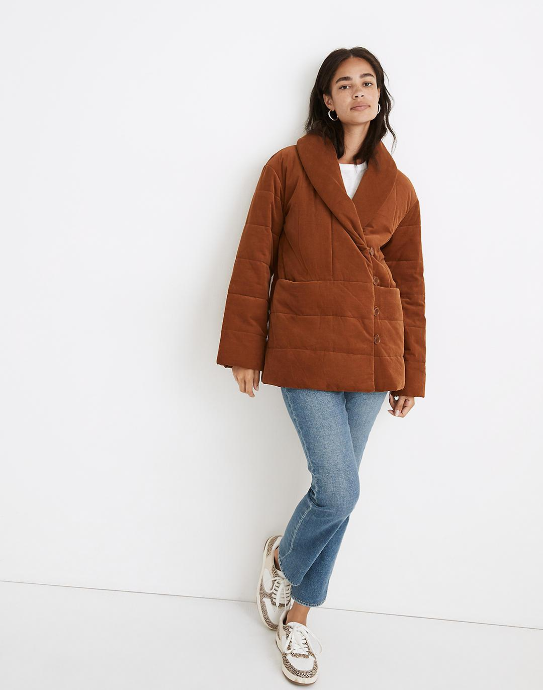 Corduroy Ensley Quilted Jacket