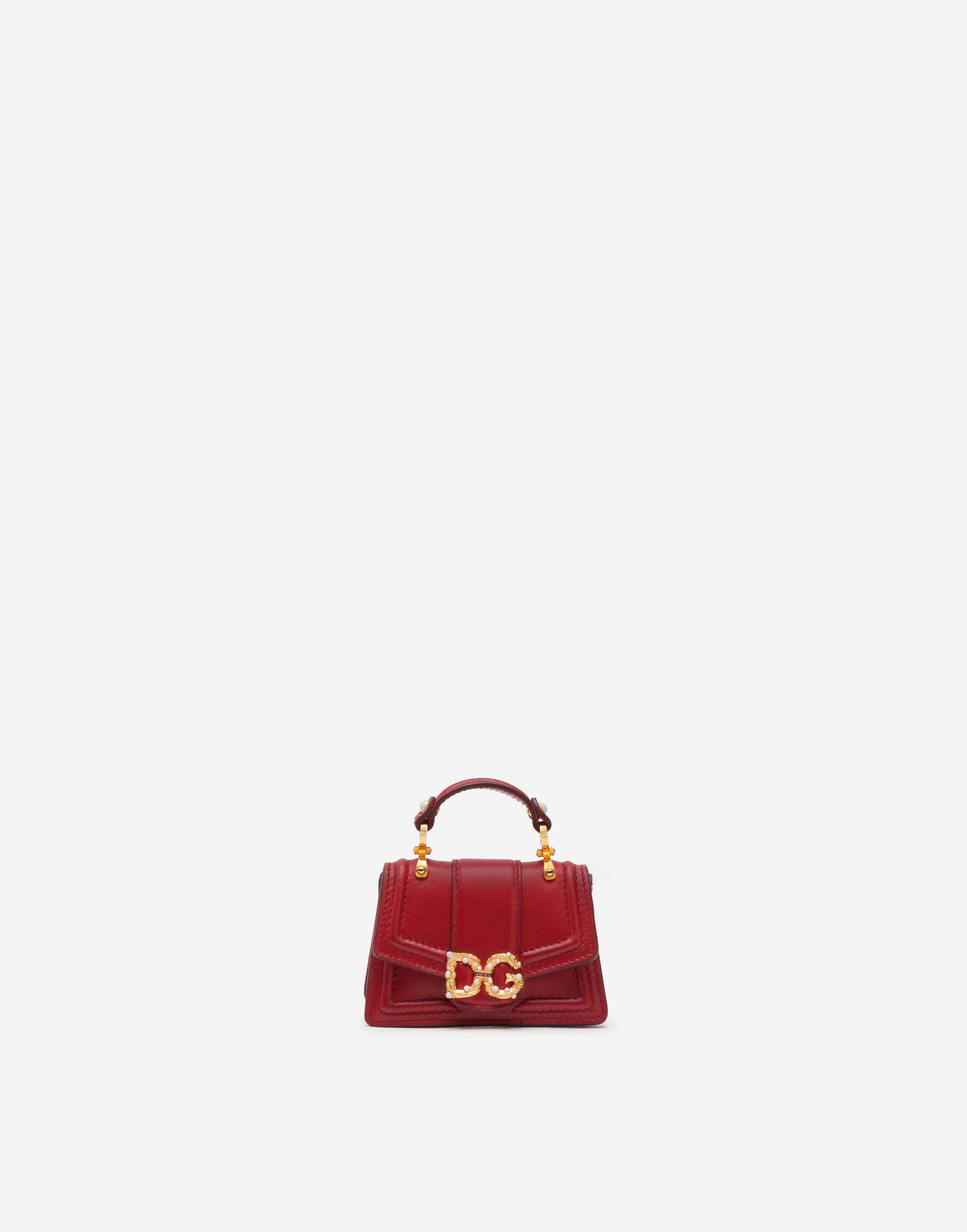 DG Amore micro bag in smooth calfskin