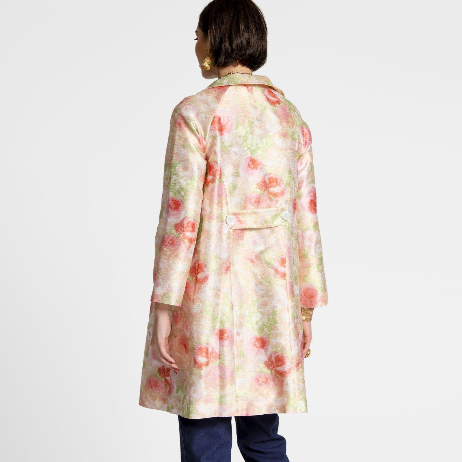 Camilla Floral Swing Trench 2