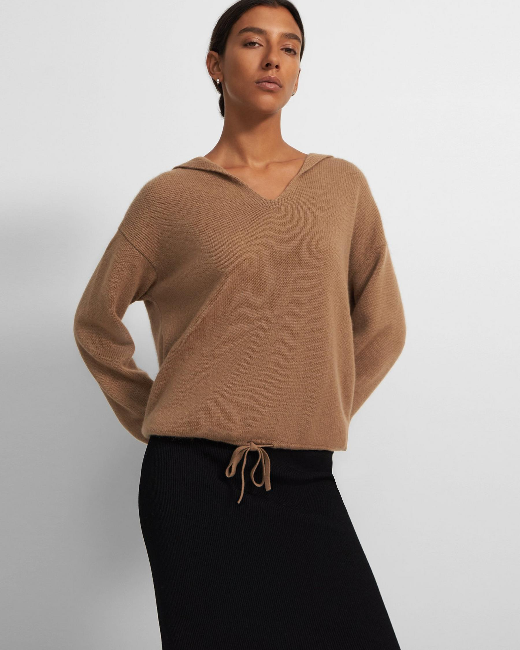 Relaxed Hoodie in Cashmere