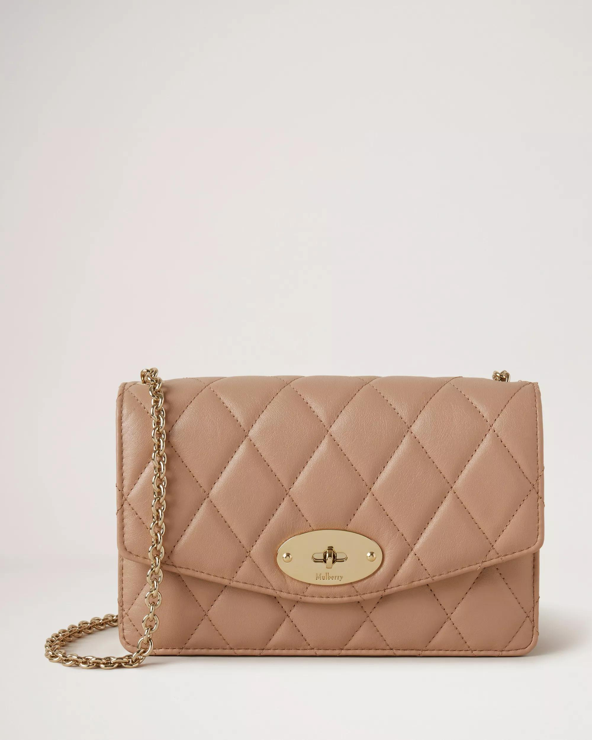 Small Darley with Leather & Chain Strap