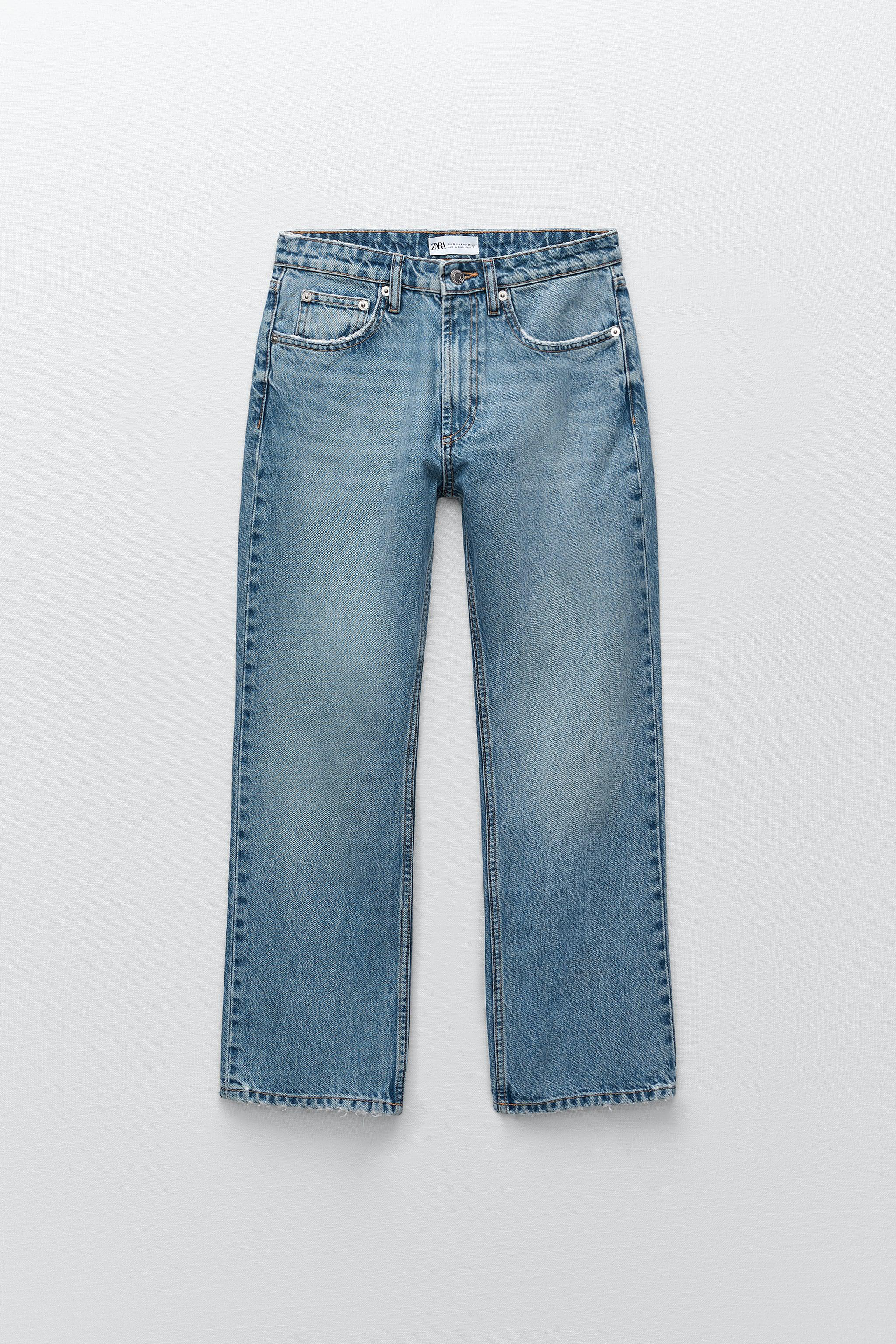 '70S CROPPED FLARE JEANS