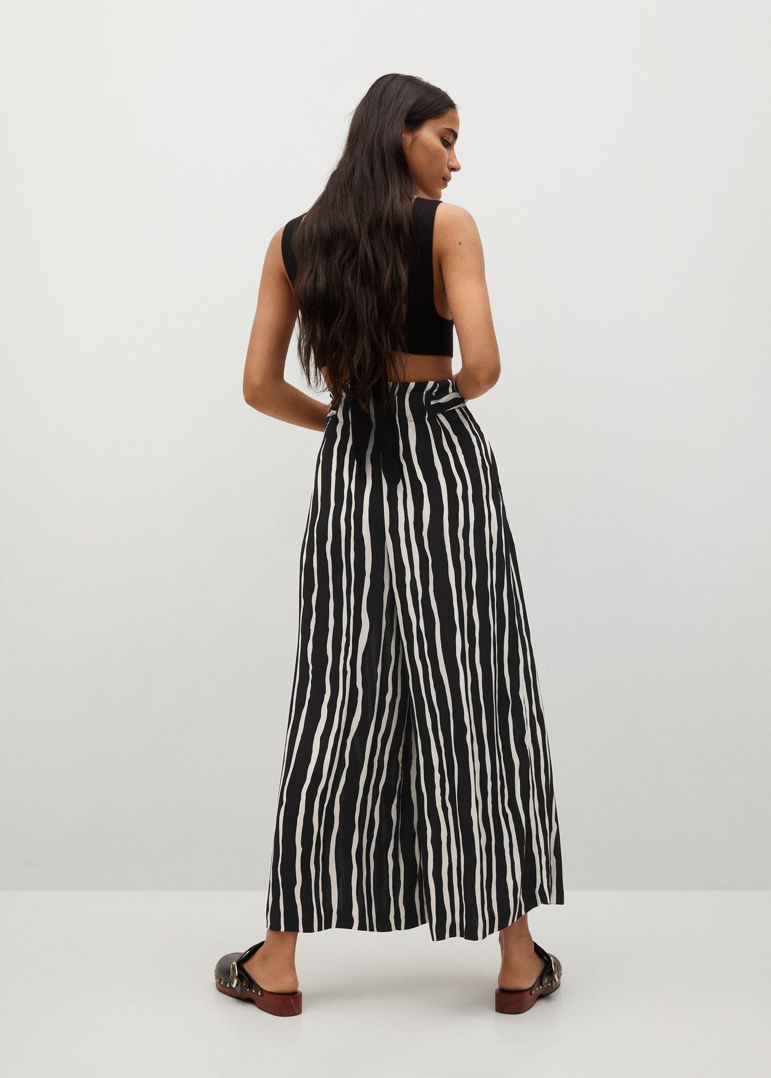Printed culotte trousers 2