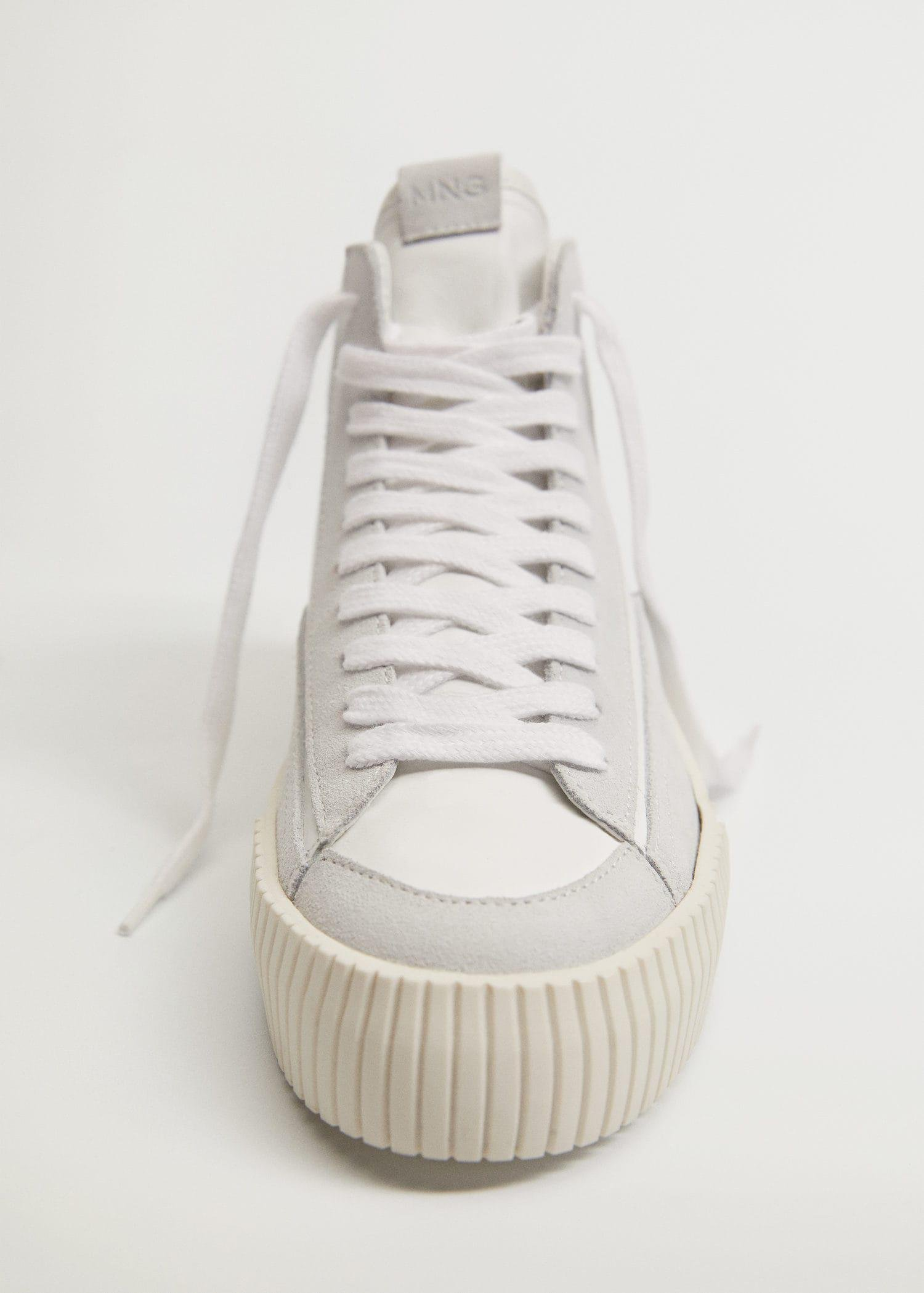 Lace-up leather sneakers 3