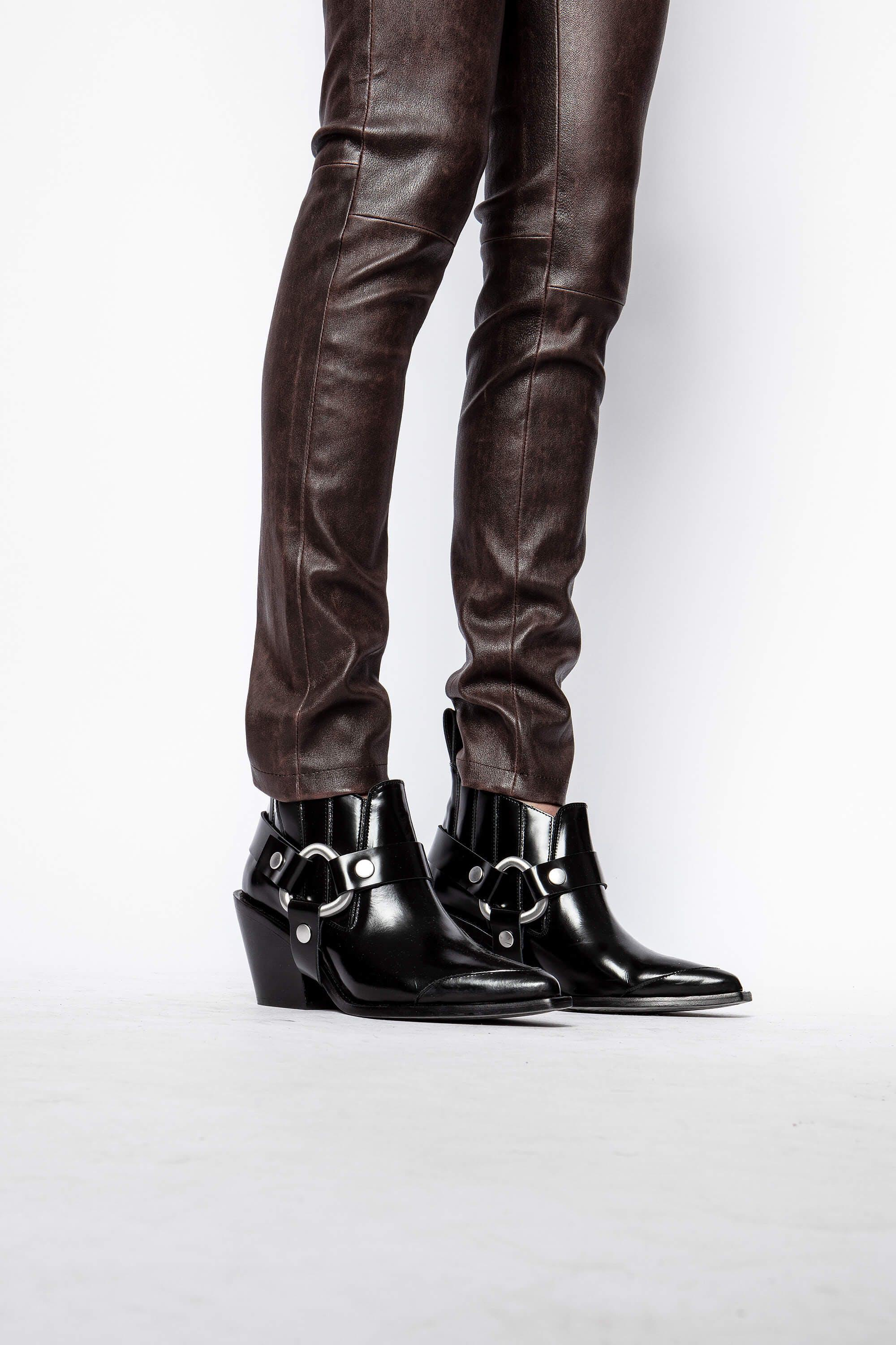 Phlame Leather Used Pants 3