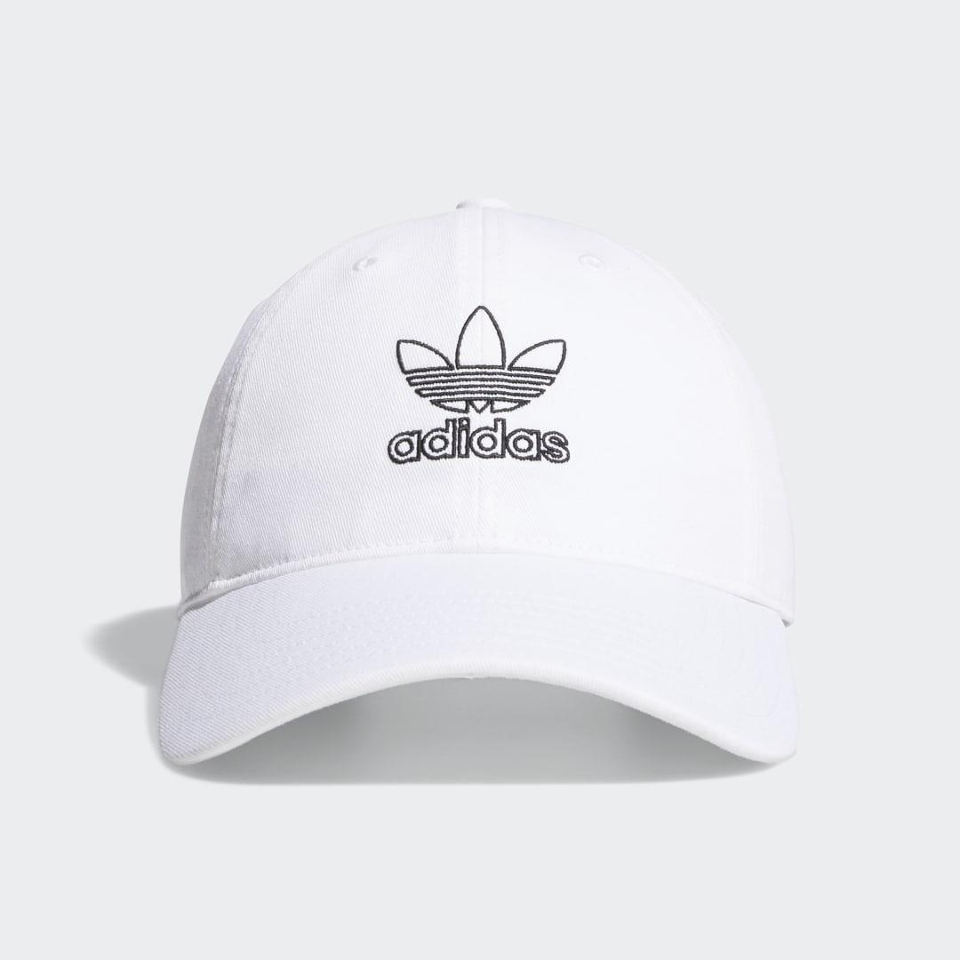 Relaxed Outline Hat White - Originals Hats