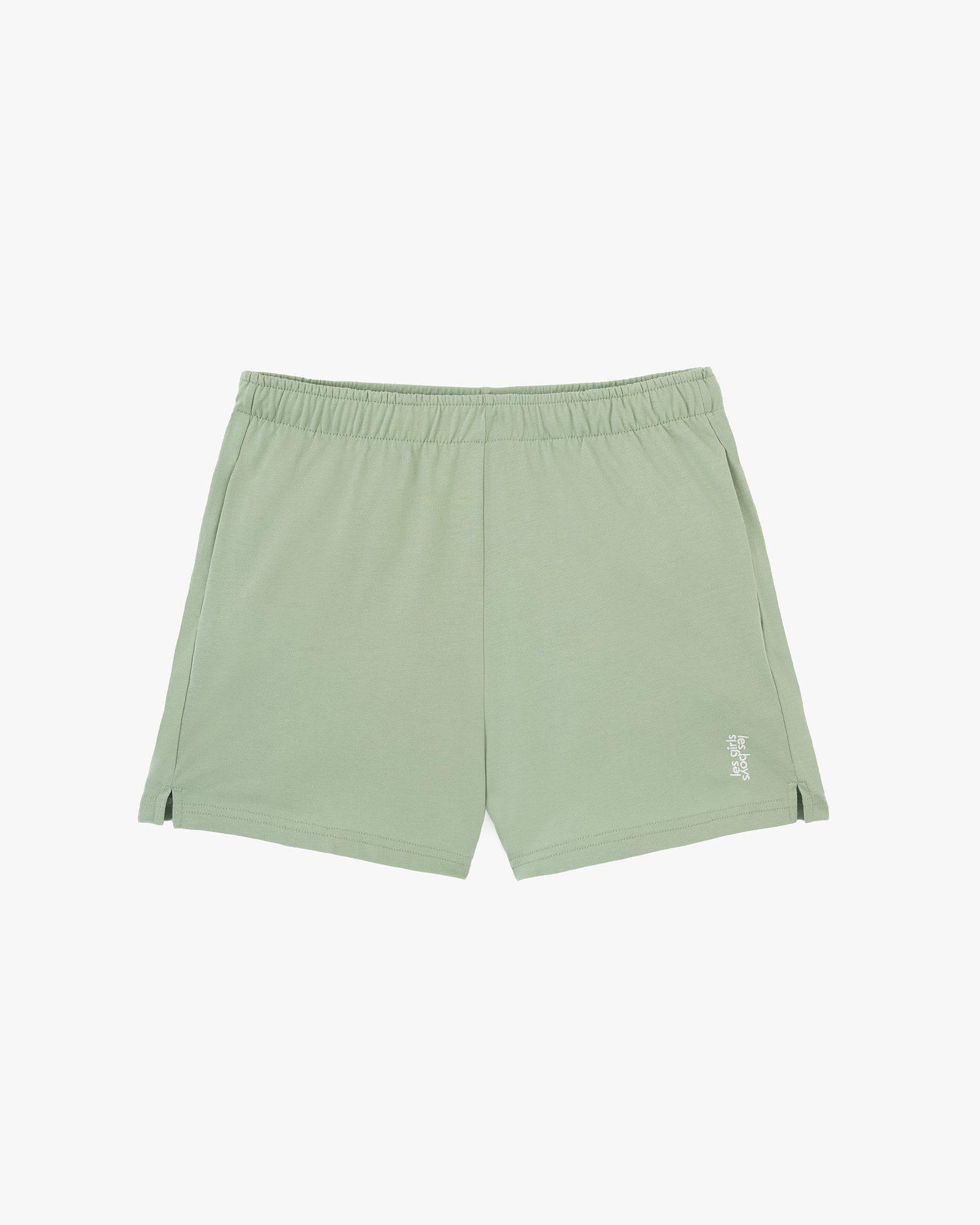 deconstructed loose shorts sage 5
