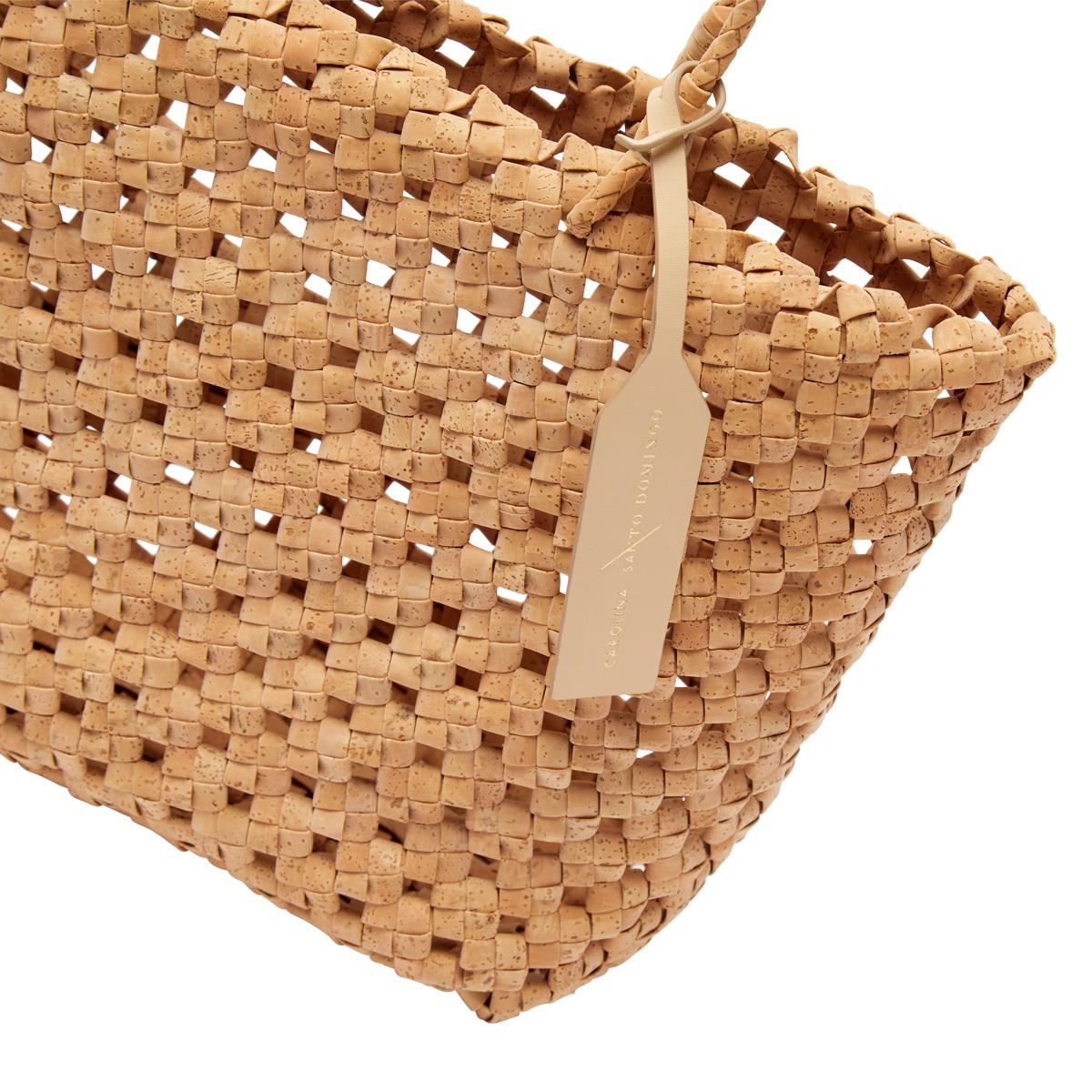 Vegan Cork Knotted Tote 2
