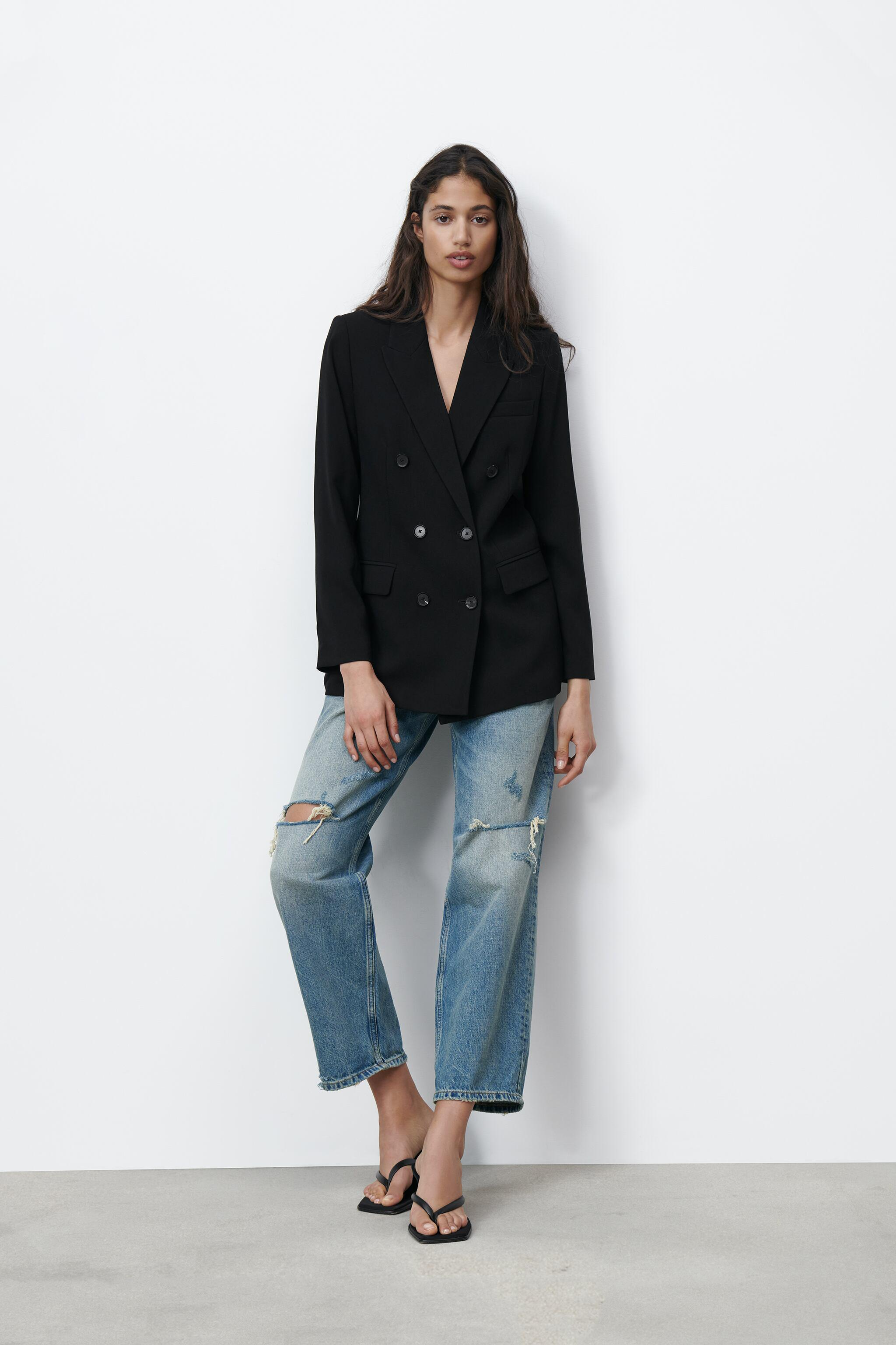 DOUBLE BREASTED BUTTONED JACKET
