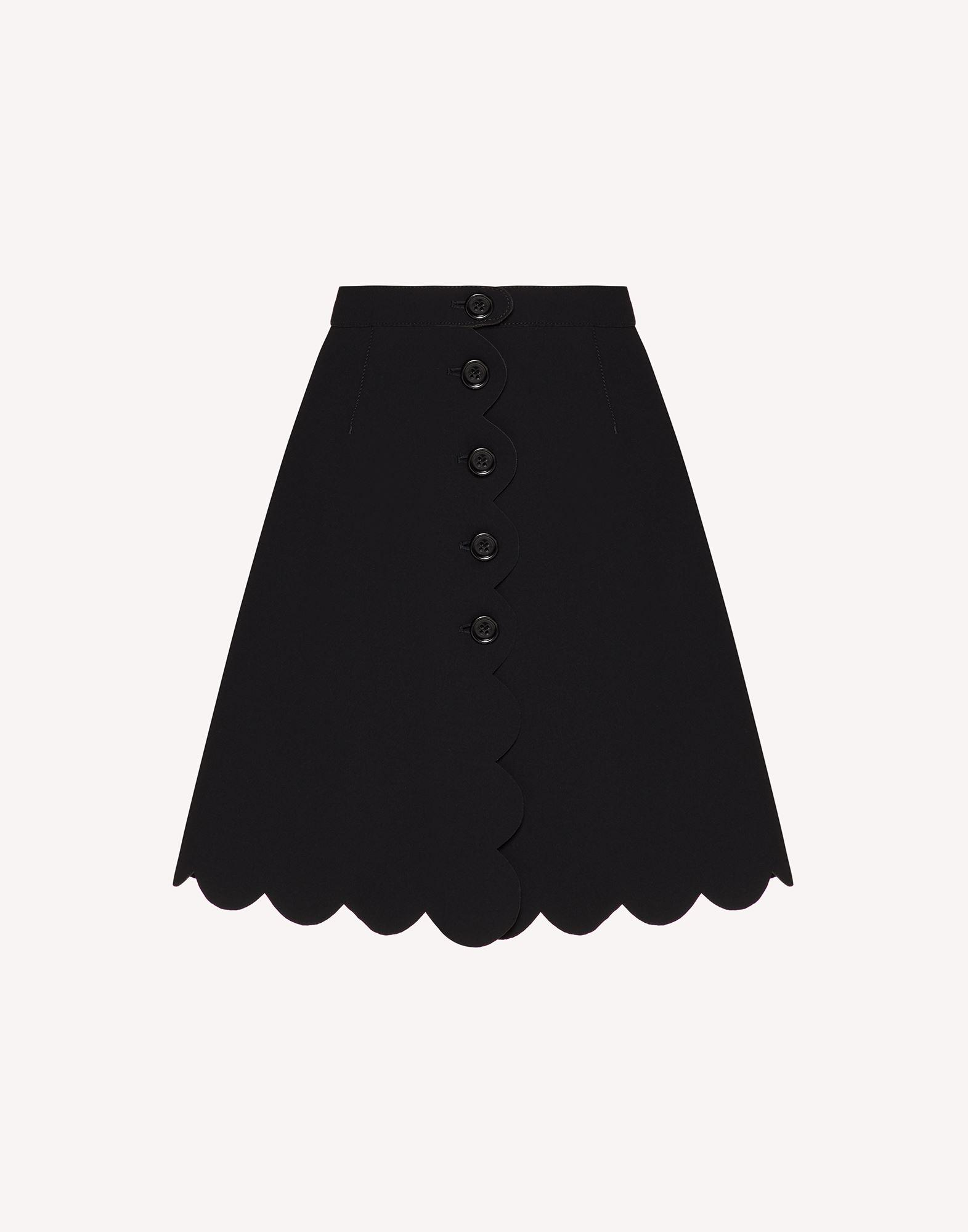 FUSED TECH SKIRT WITH SCALLOP DETAIL 4