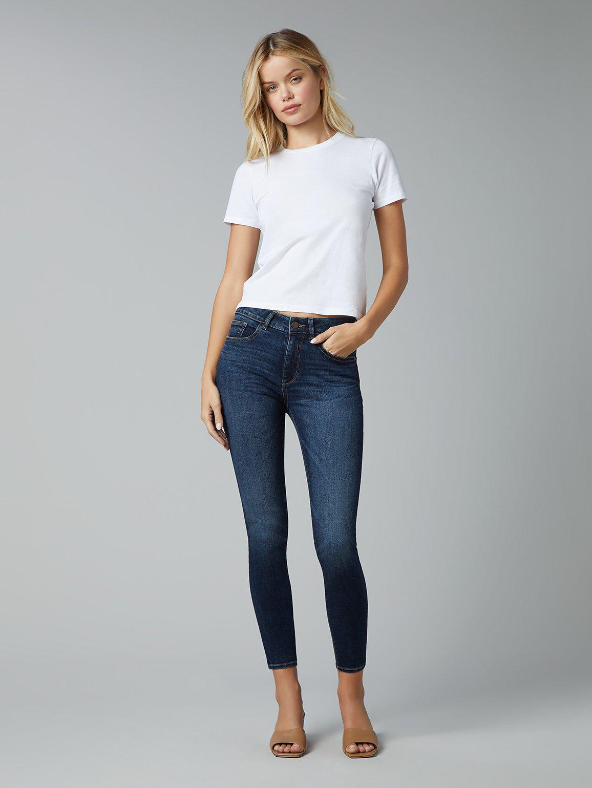Florence Skinny Mid Rise Instasculpt Ankle | Write