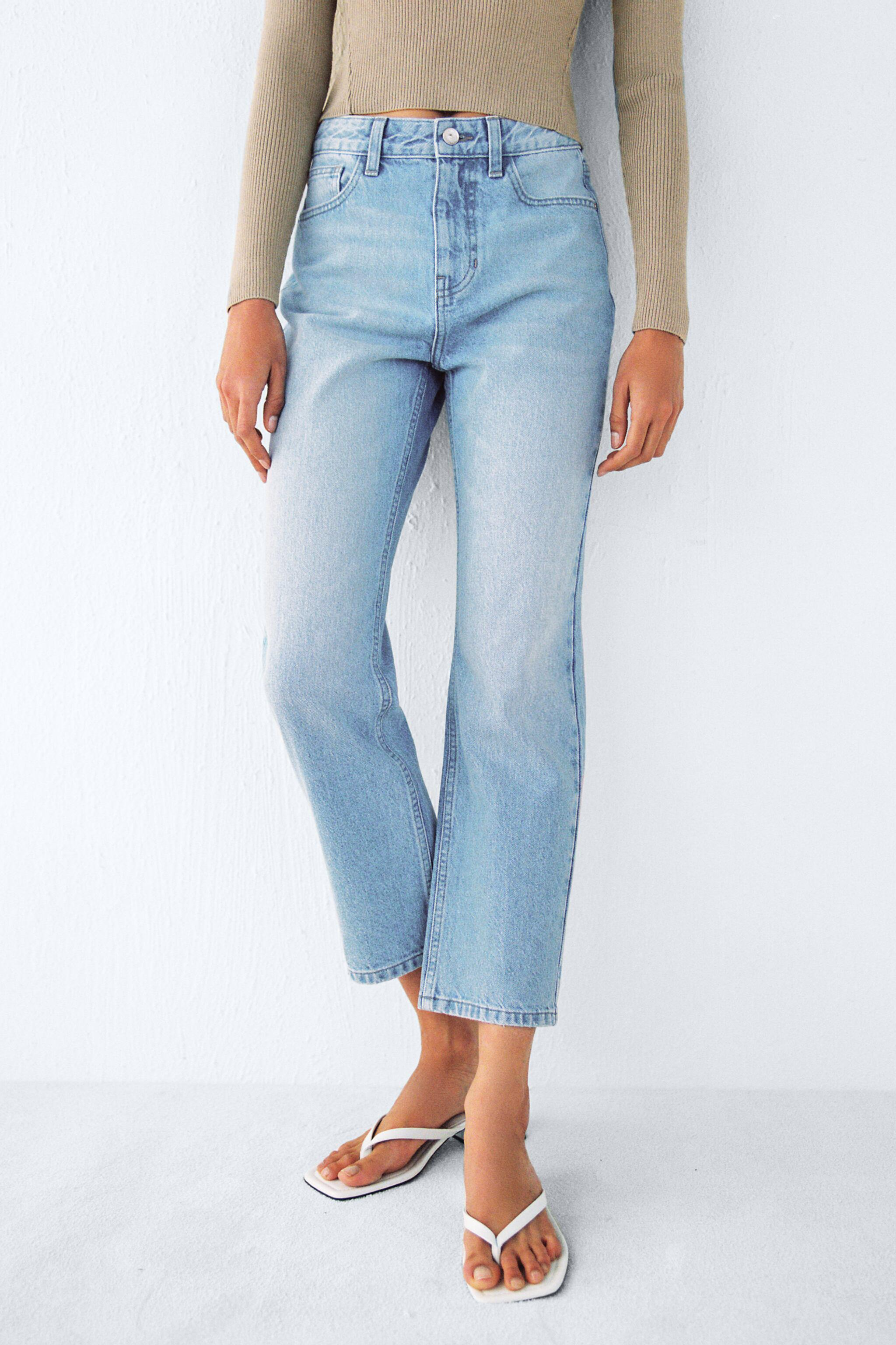Z1975 HIGH RISE TAPERED JEANS 1
