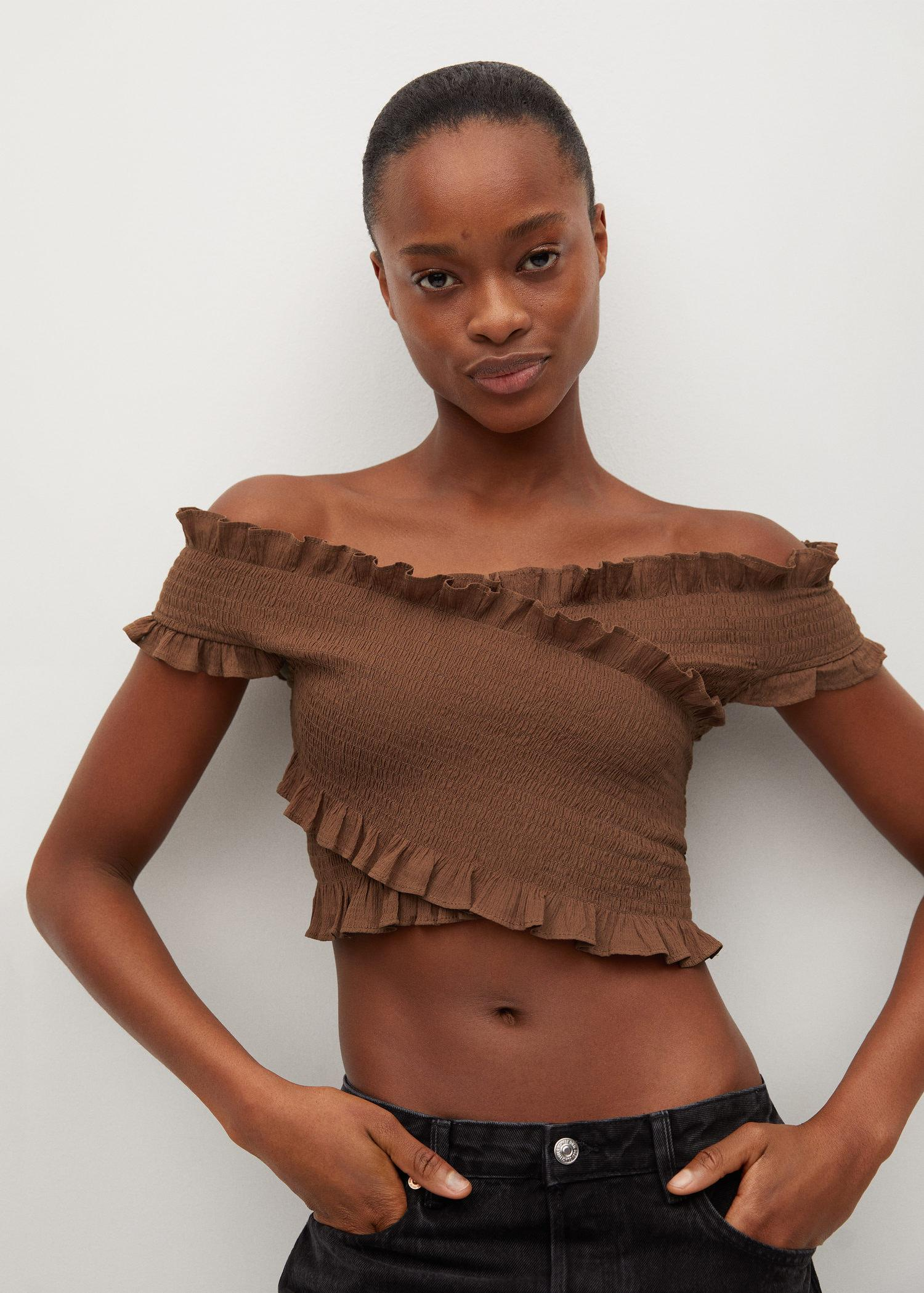 Cotton wrapped top