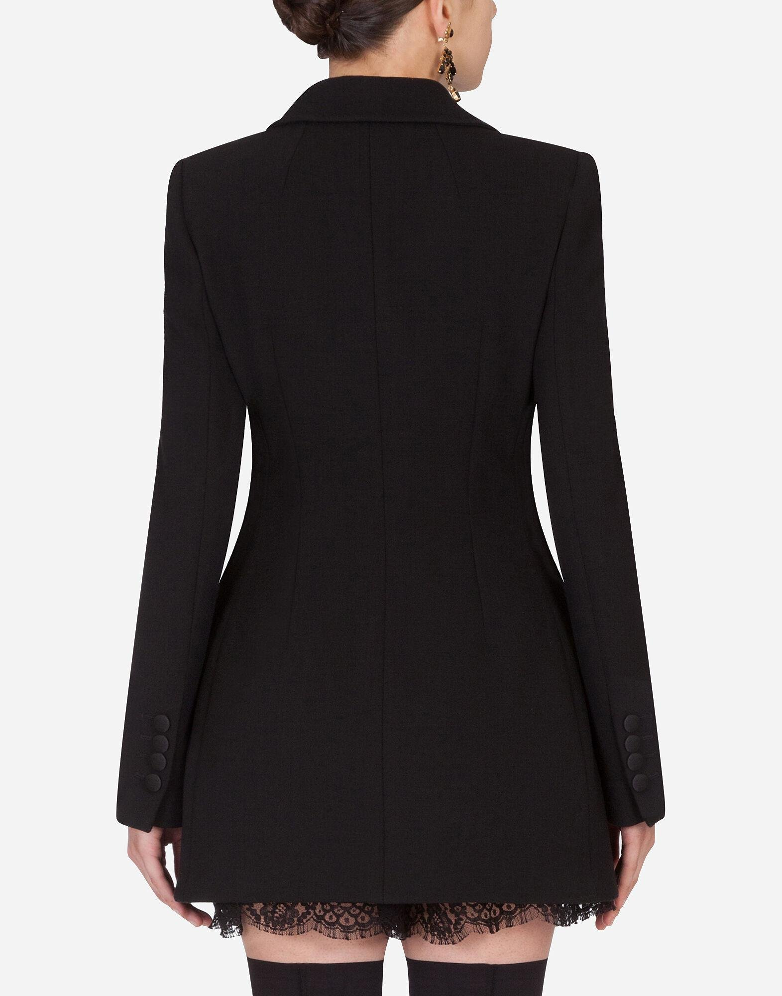 Long double-breasted Dolce jacket 1