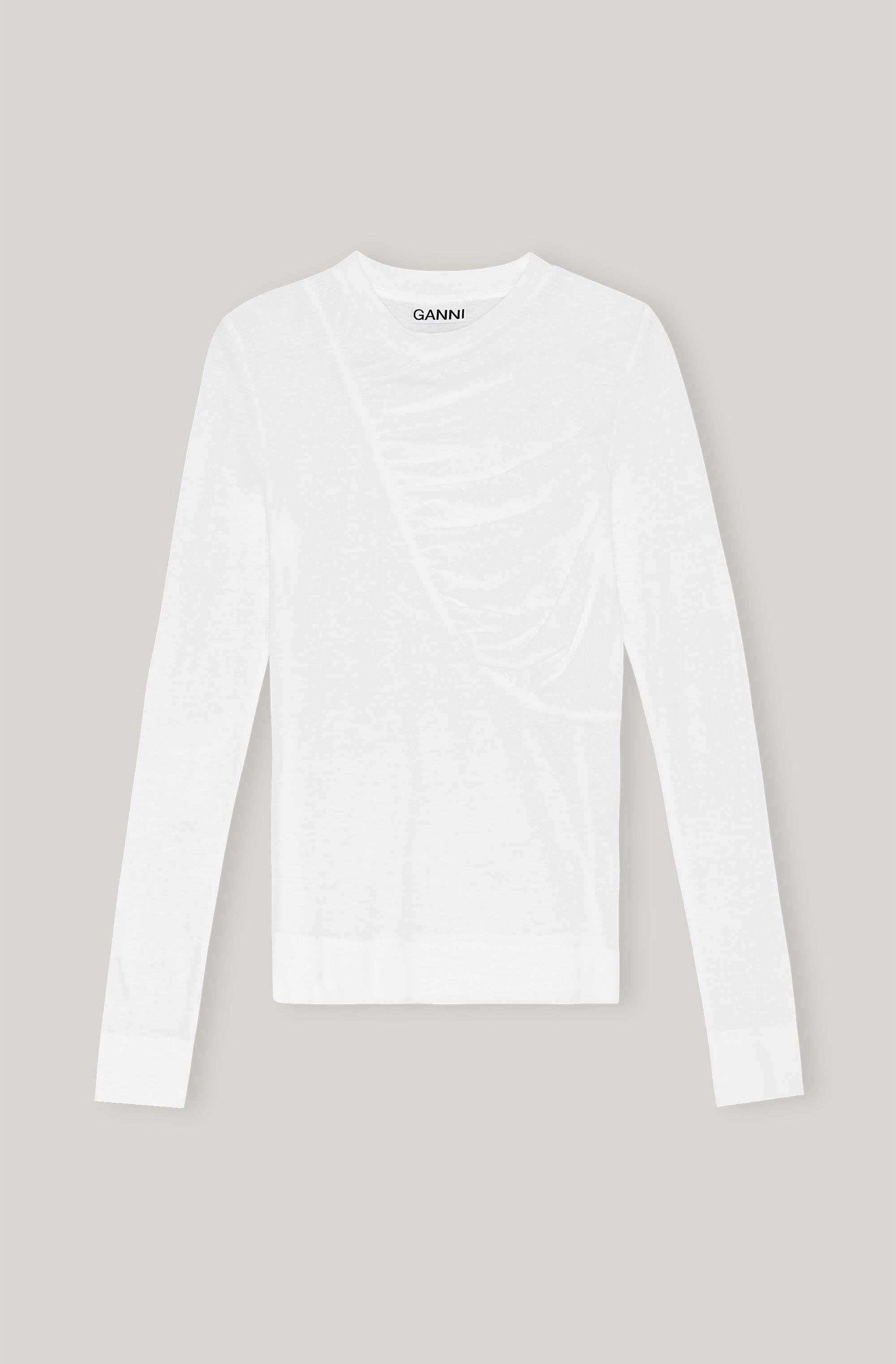 Organic Cotton Quilted Long-Sleeve Tee