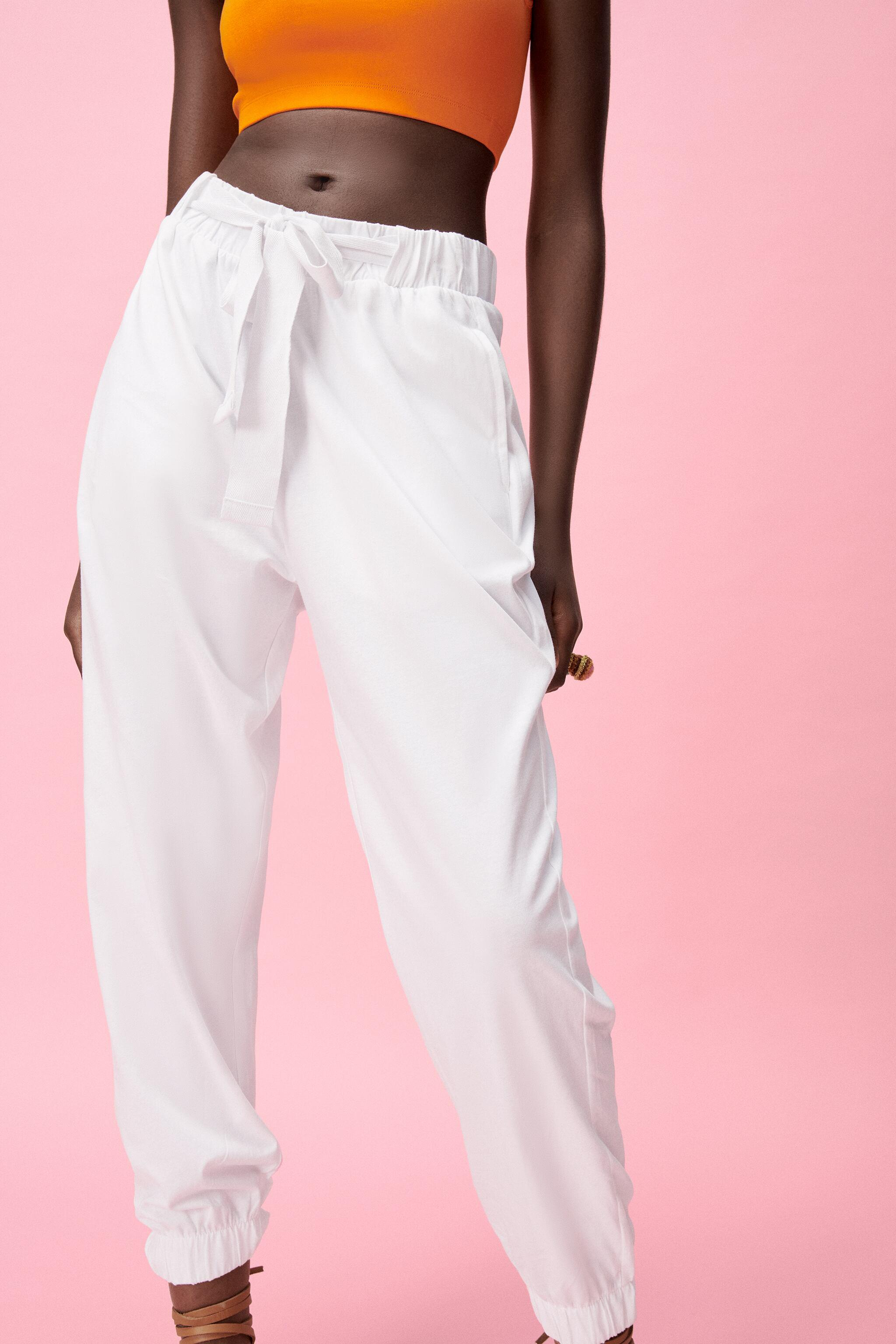 JOGGER PANTS WITH BOW