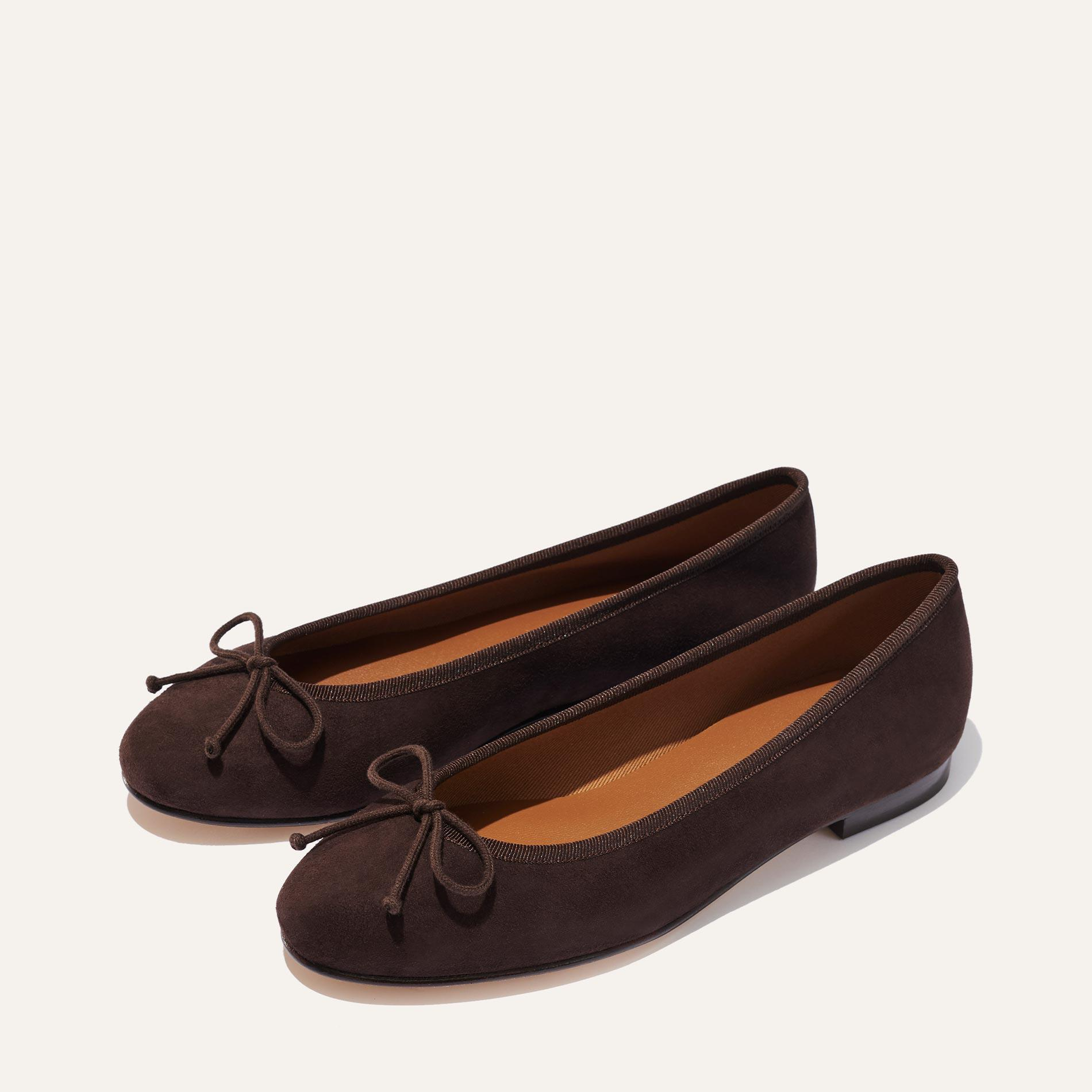 The Demi - Chocolate Suede