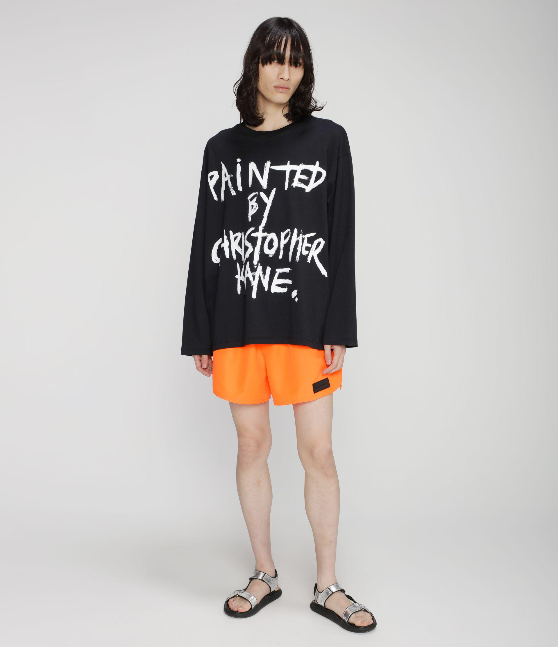 Painted by Christopher Kane long sleeve t-shirt 4