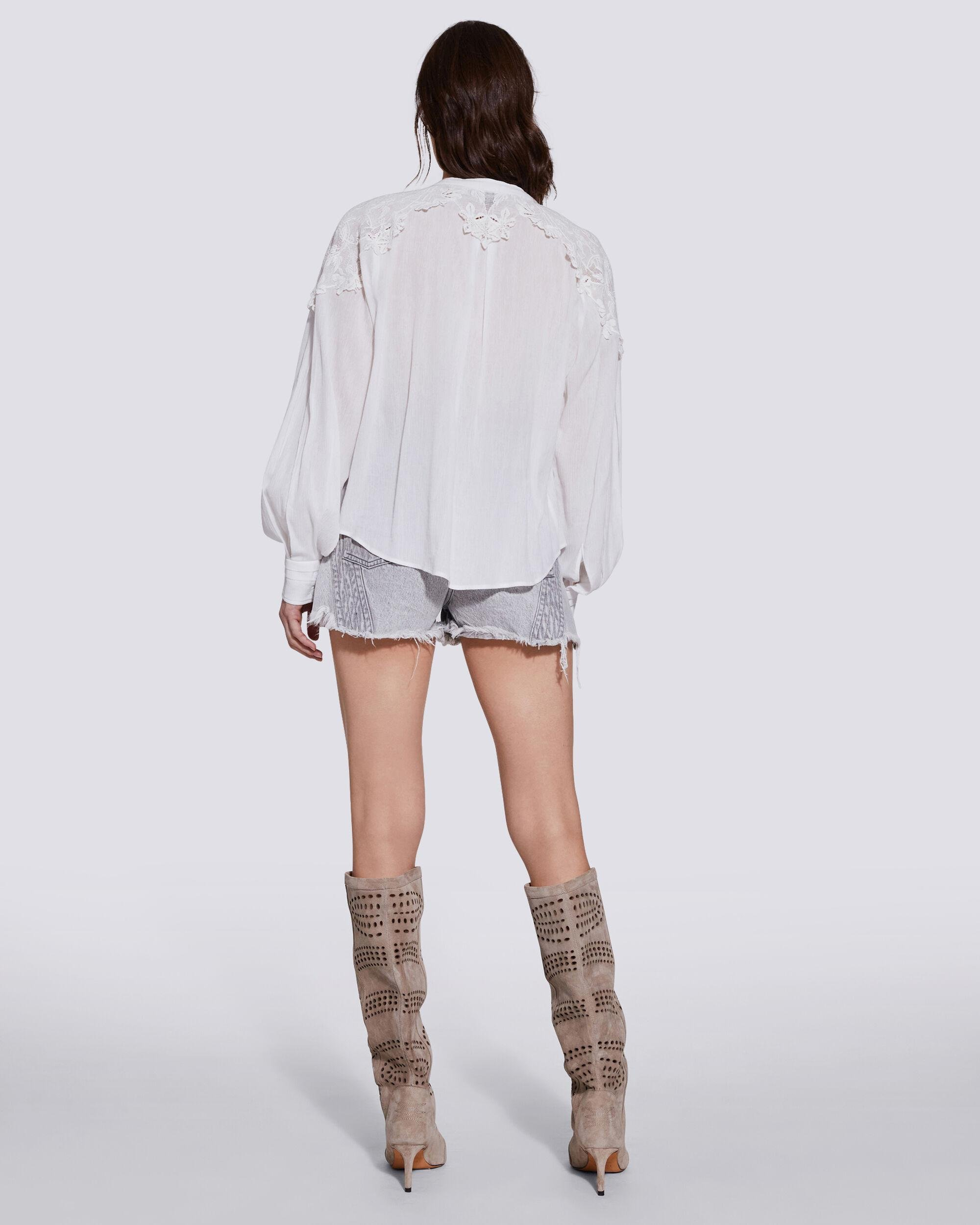 CALISTO LACE BUTTON UP SHIRT 3