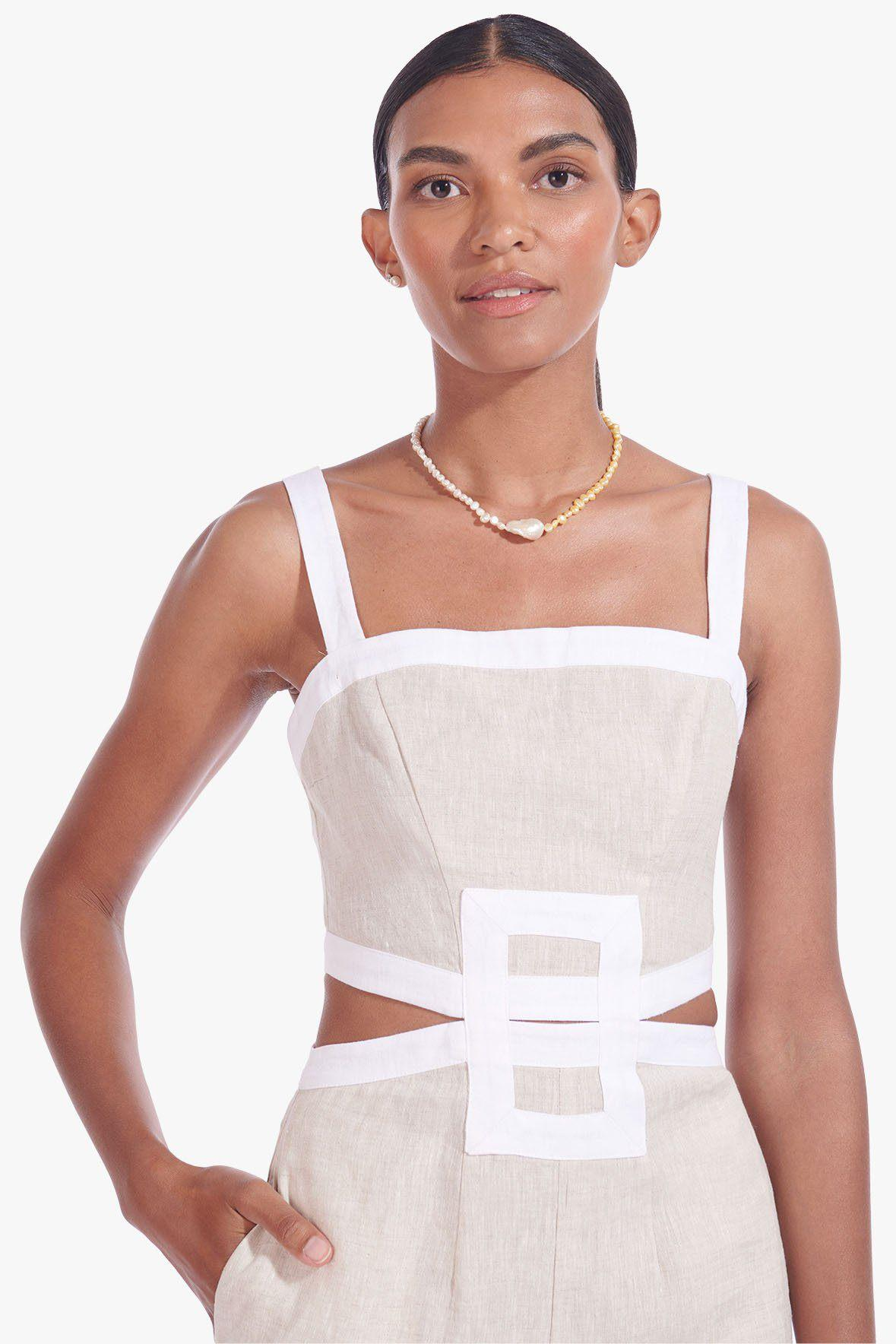 SHELLY JUMPSUIT | NATURAL WHITE 1