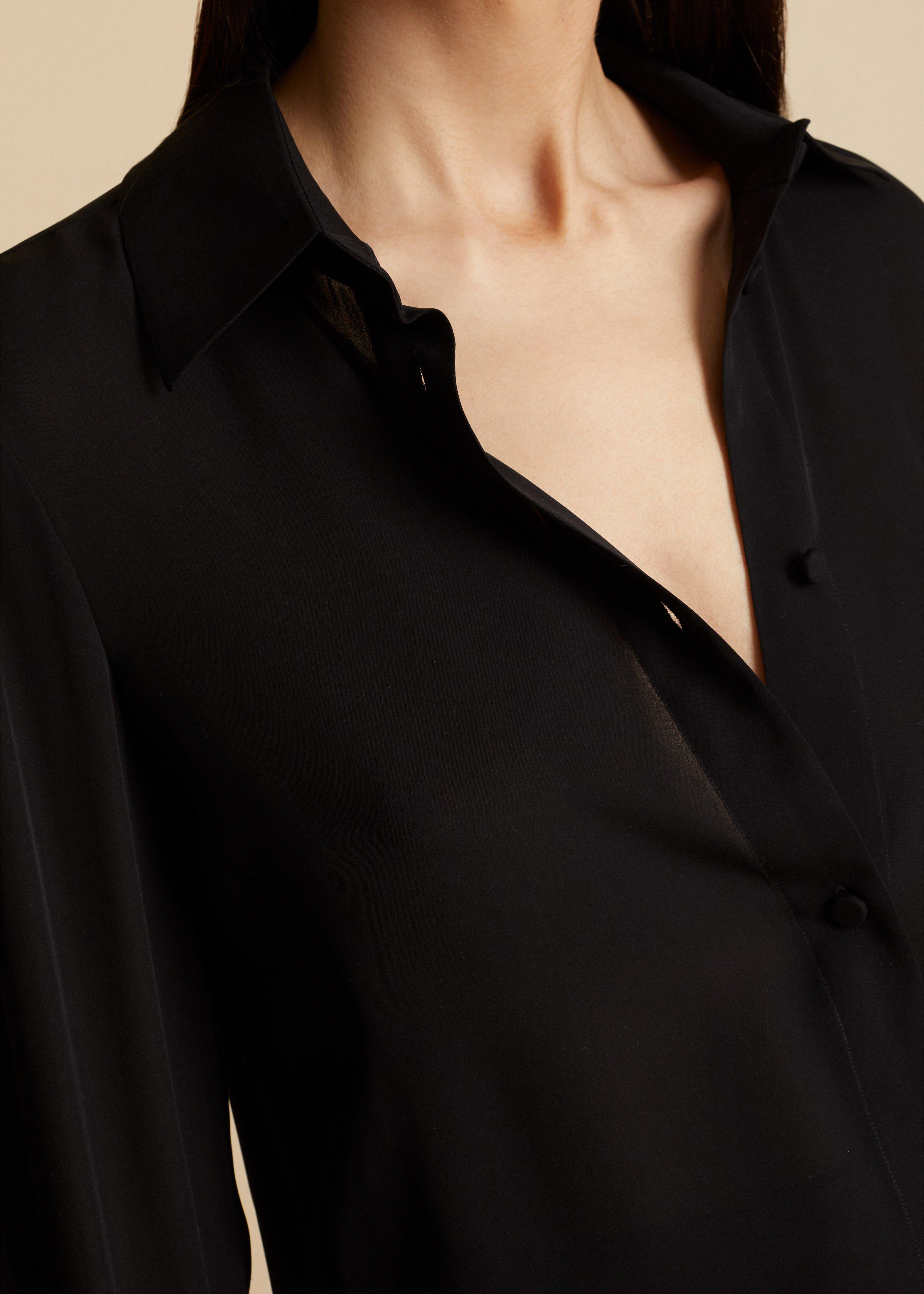 The Mary Top in Black 4