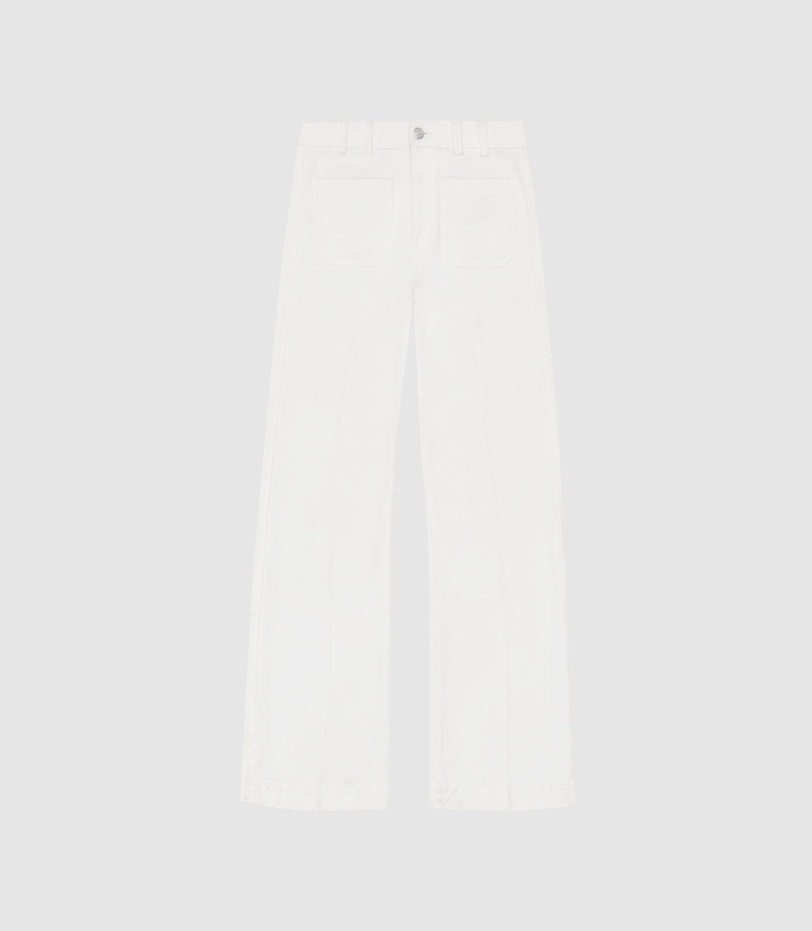 ISA - HIGH RISE FLARED JEANS 6