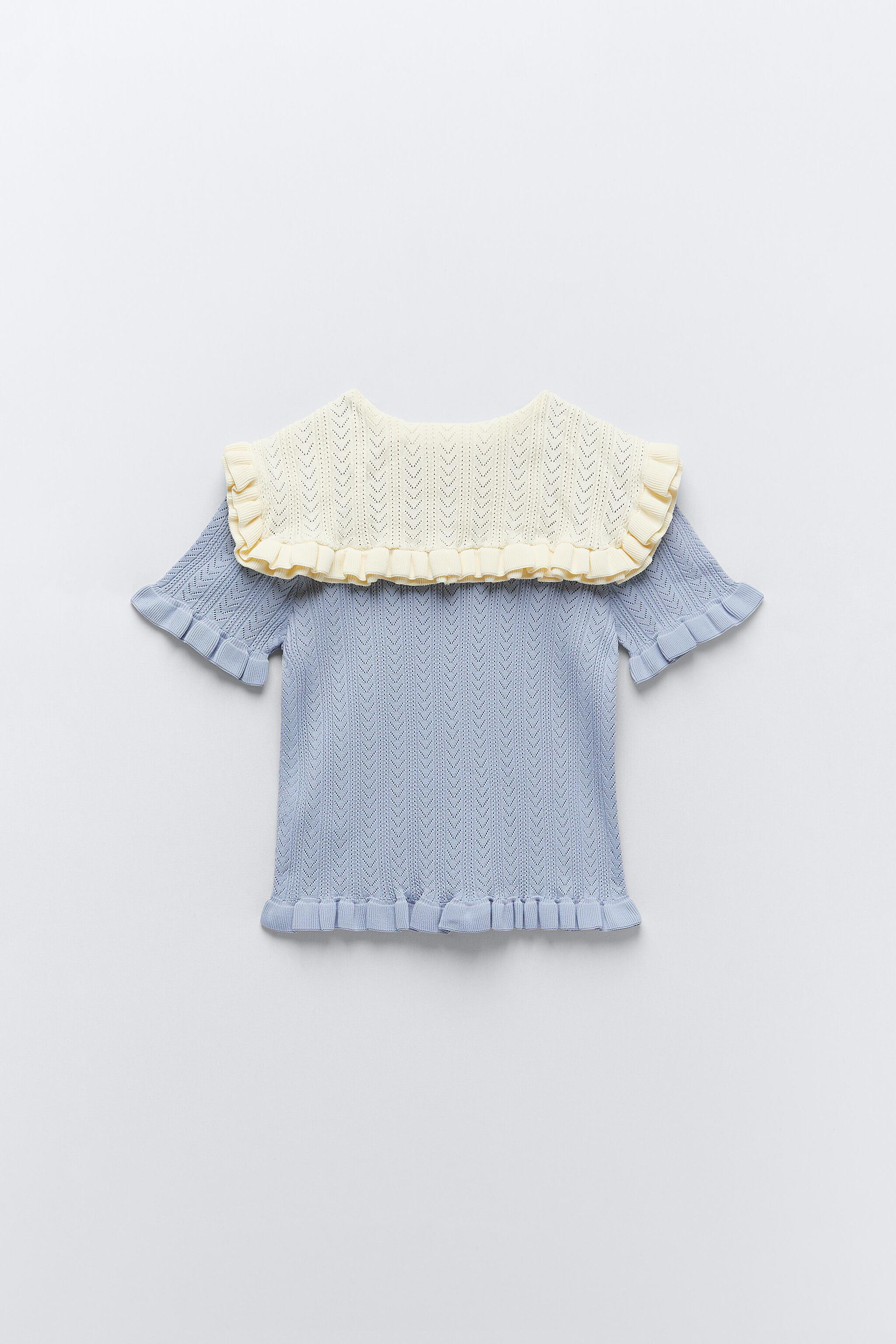 COMBINATION KNIT TOP 7