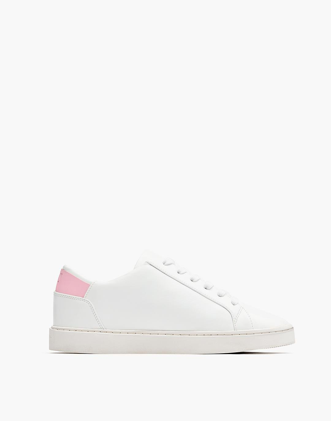 Thousand Fell Vegan Leather Lace-Up Sneakers 0