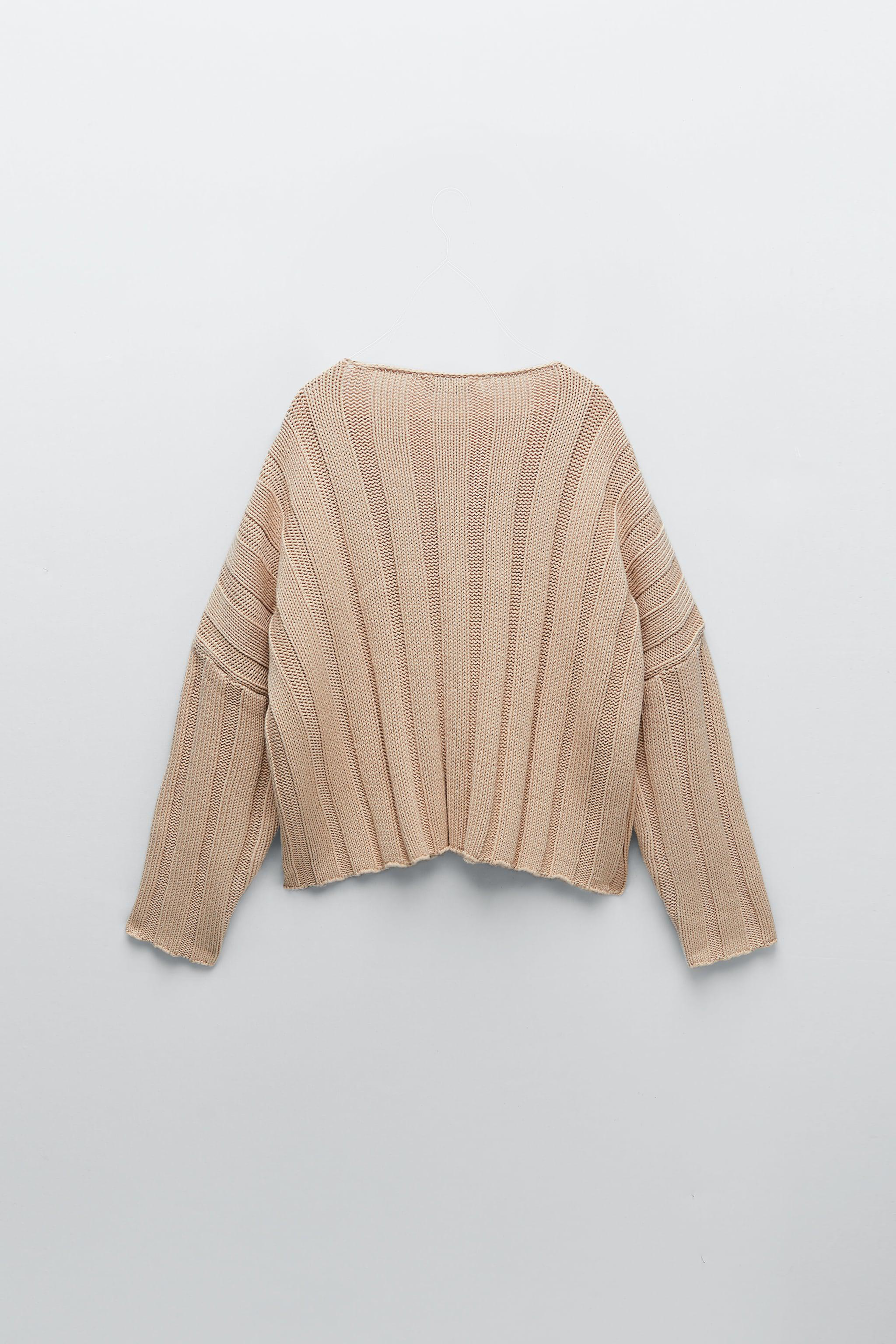 RIBBED KNIT SWEATER 5