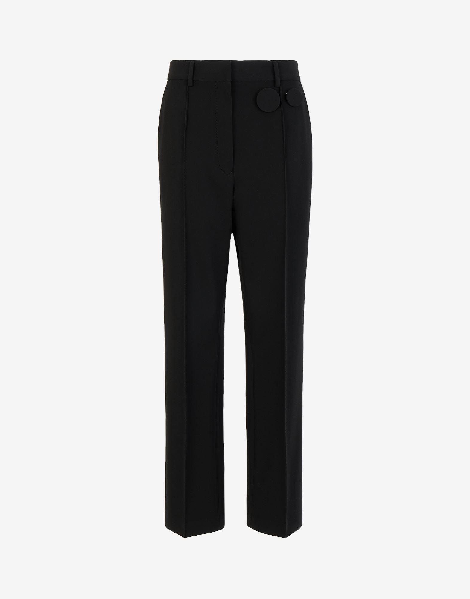 Badge pleated trousers 4