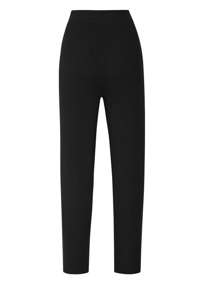 CASHMERE RIBBED PANT 1