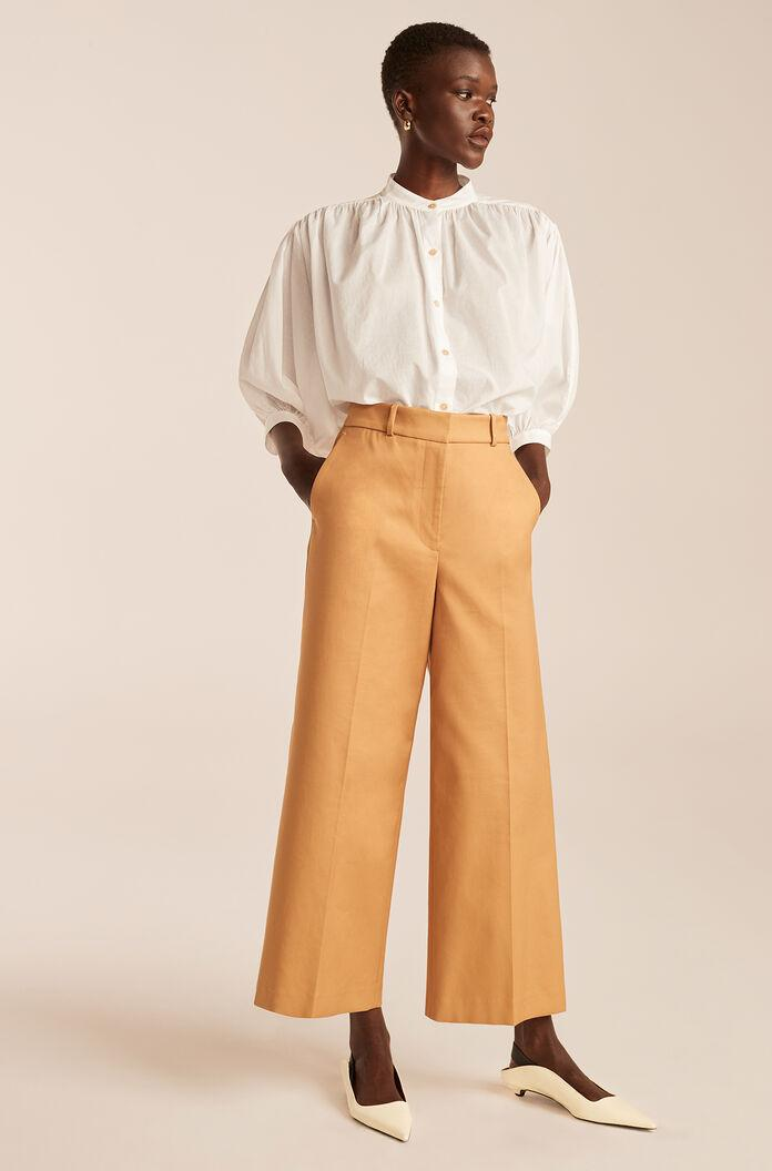 CROPPED FLARE CHINO
