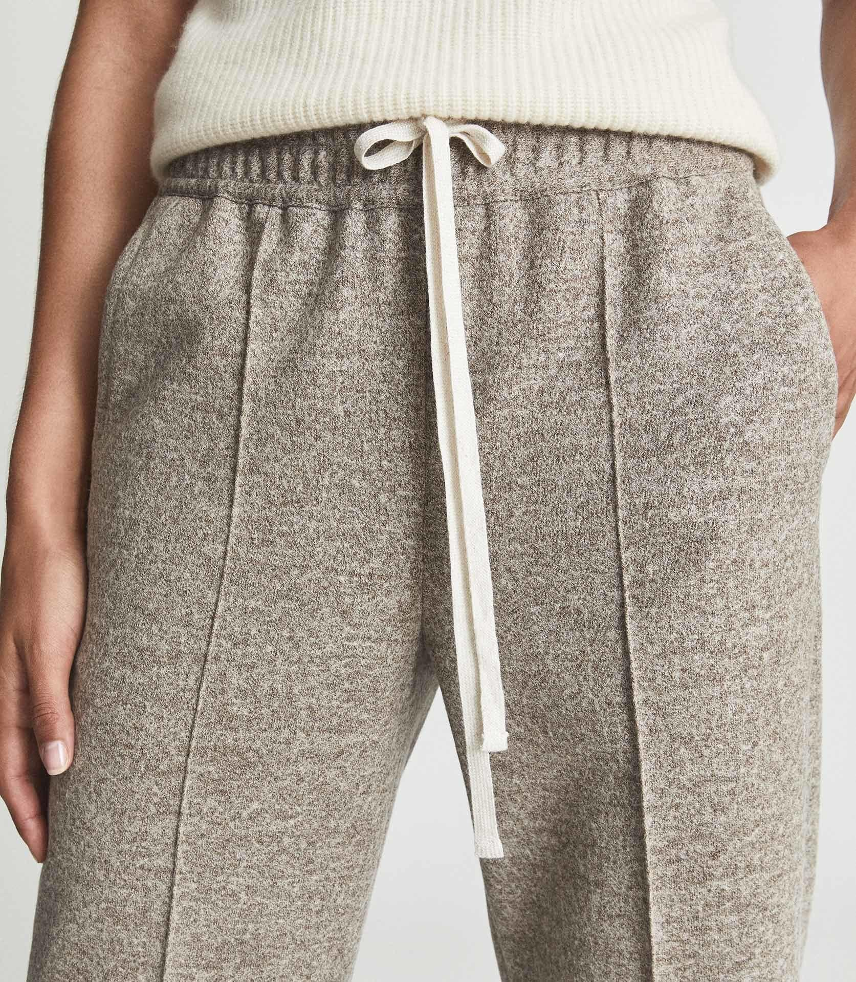 JOEY - TEXTURED WIDE LEG TROUSERS 6