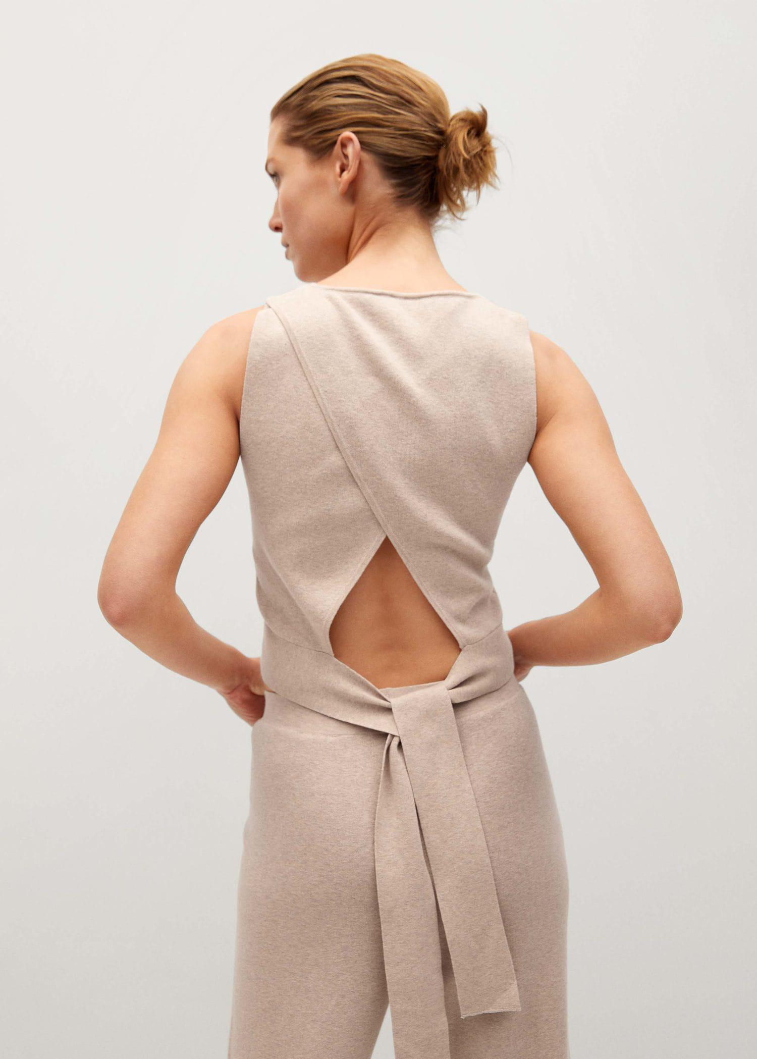 Wrap back top 2