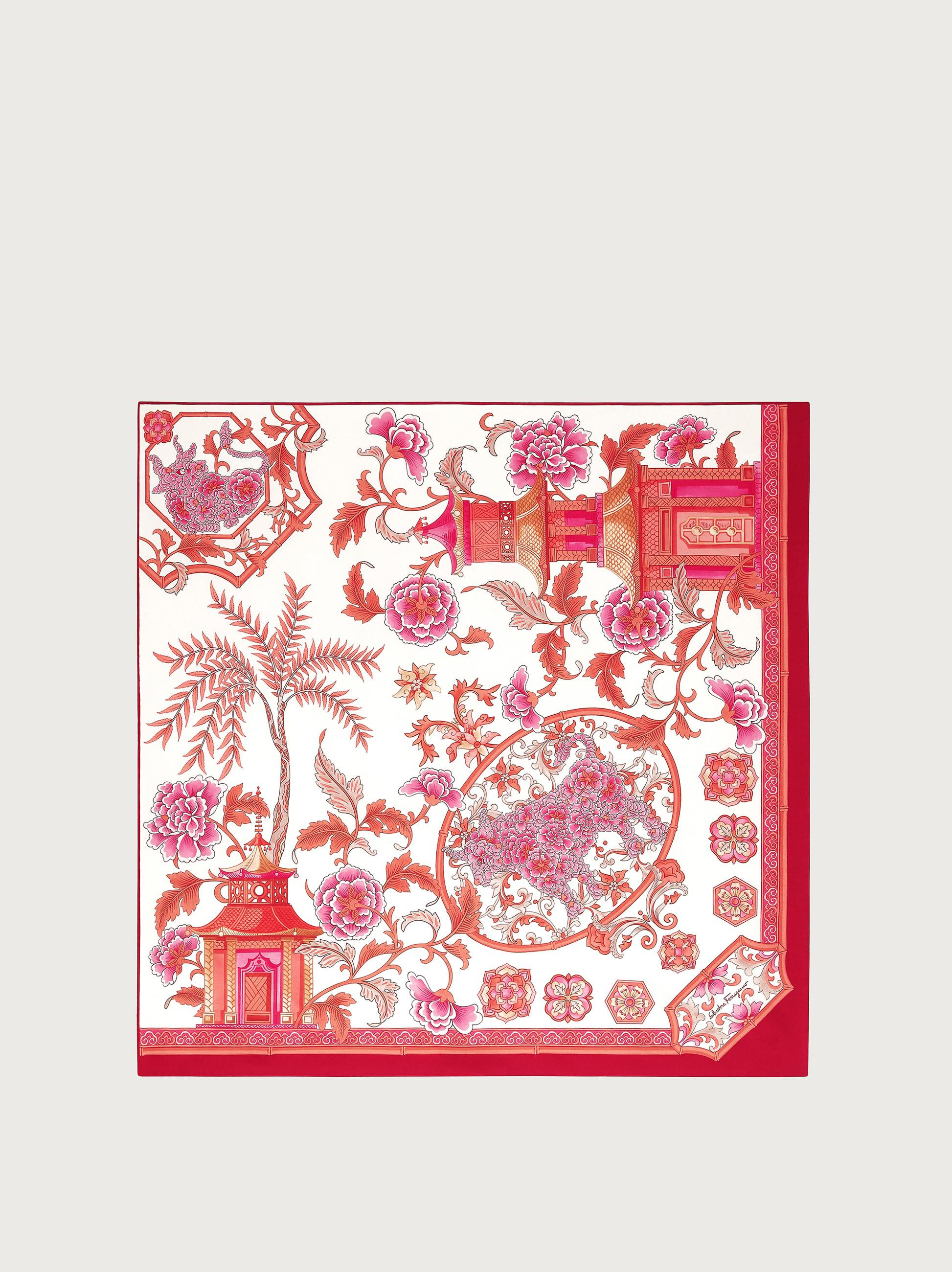 YEAR OF THE OX SILK SCARF
