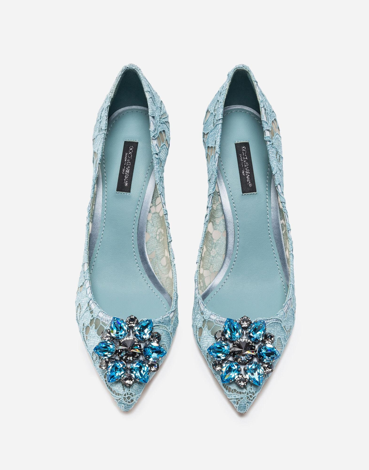 Pump in Taormina lace with crystals 2