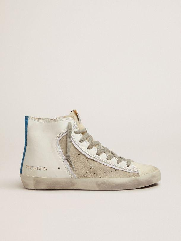 Women's Limited Edition blue and white Francy sneakers