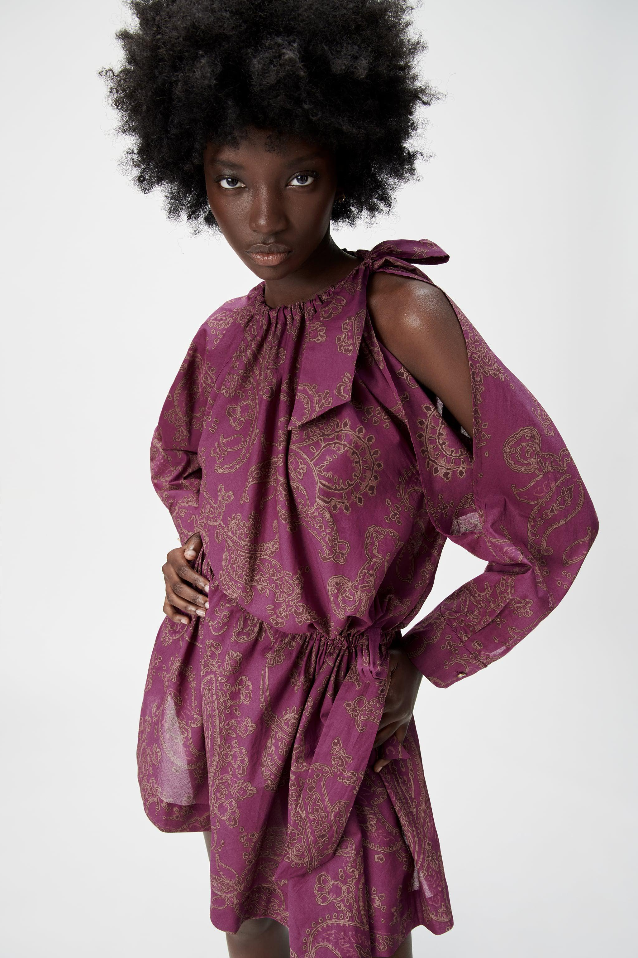 LIMITED EDITION PRINTED DRESS