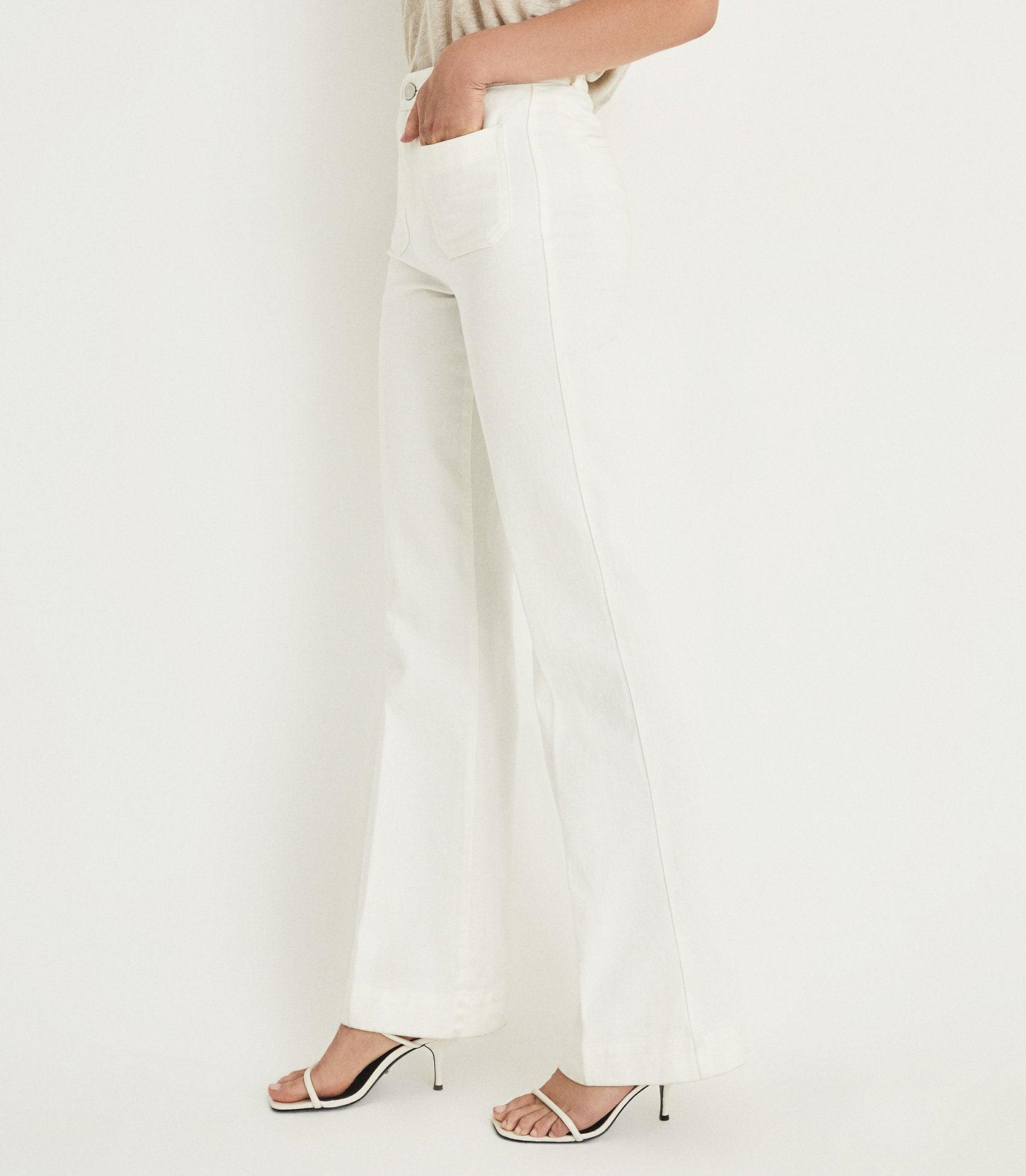 ISA - HIGH RISE FLARED JEANS 5