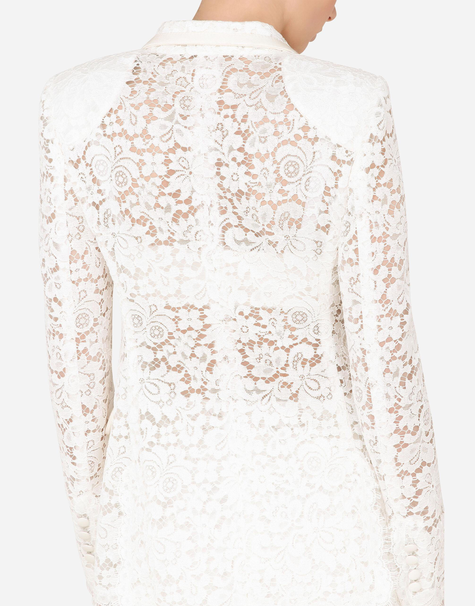 Lace jacket with edge detailing 5