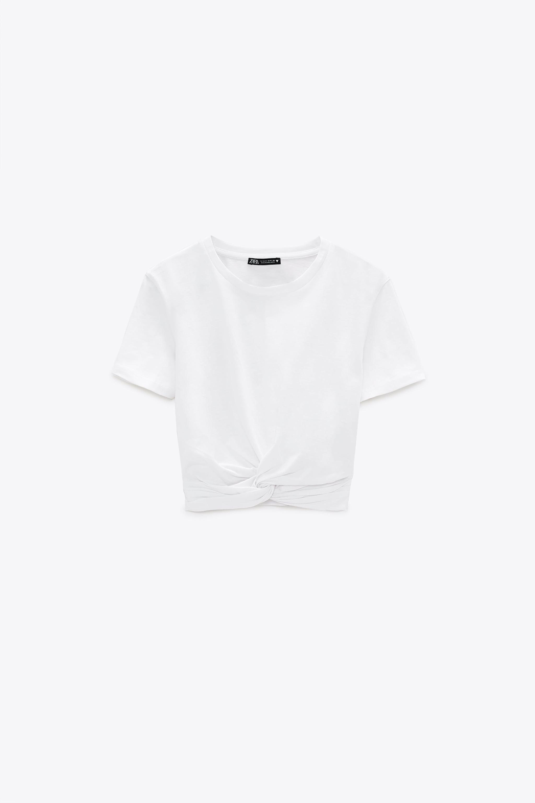 KNOTTED T-SHIRT 1