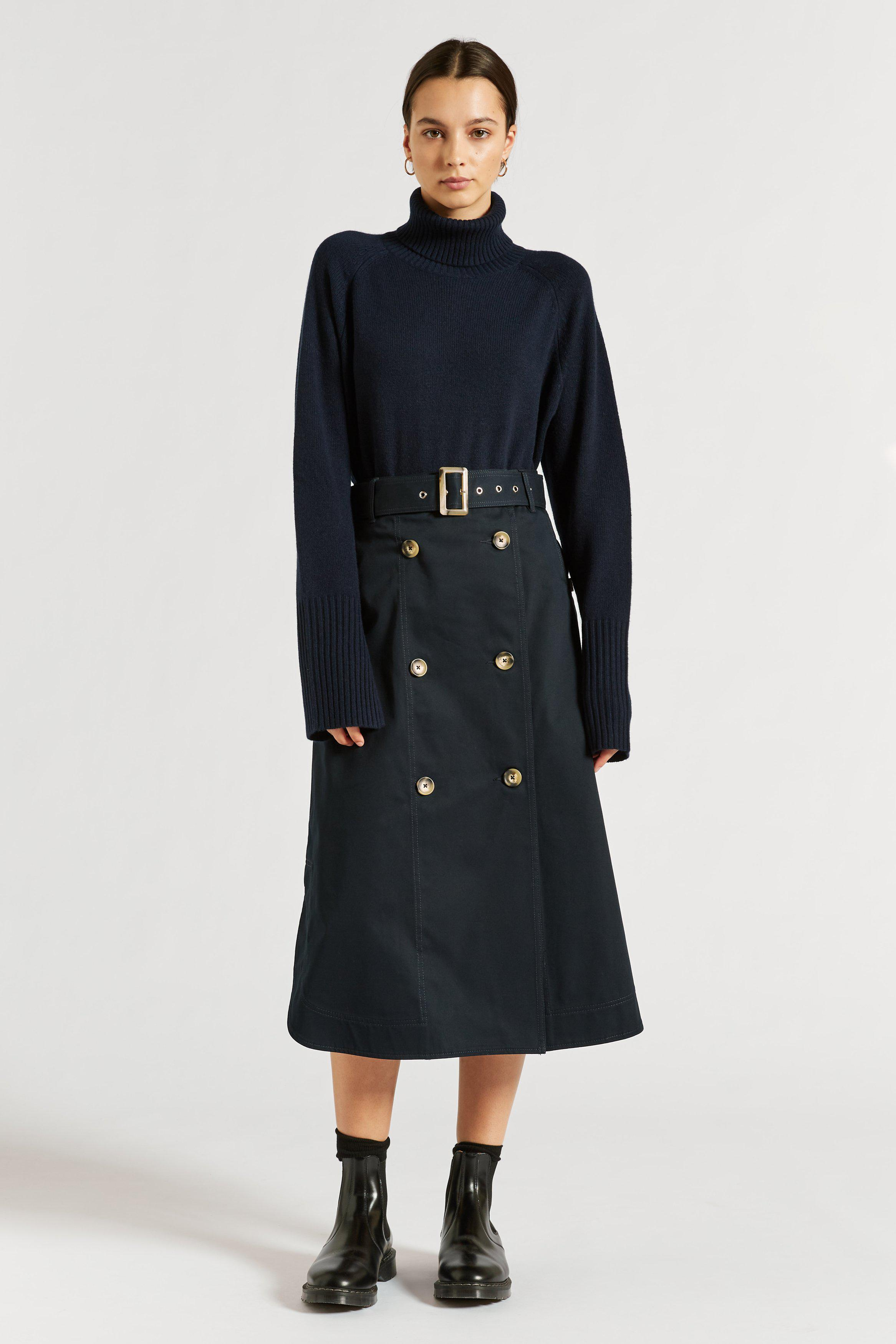 Hutton Drill Trench Skirt