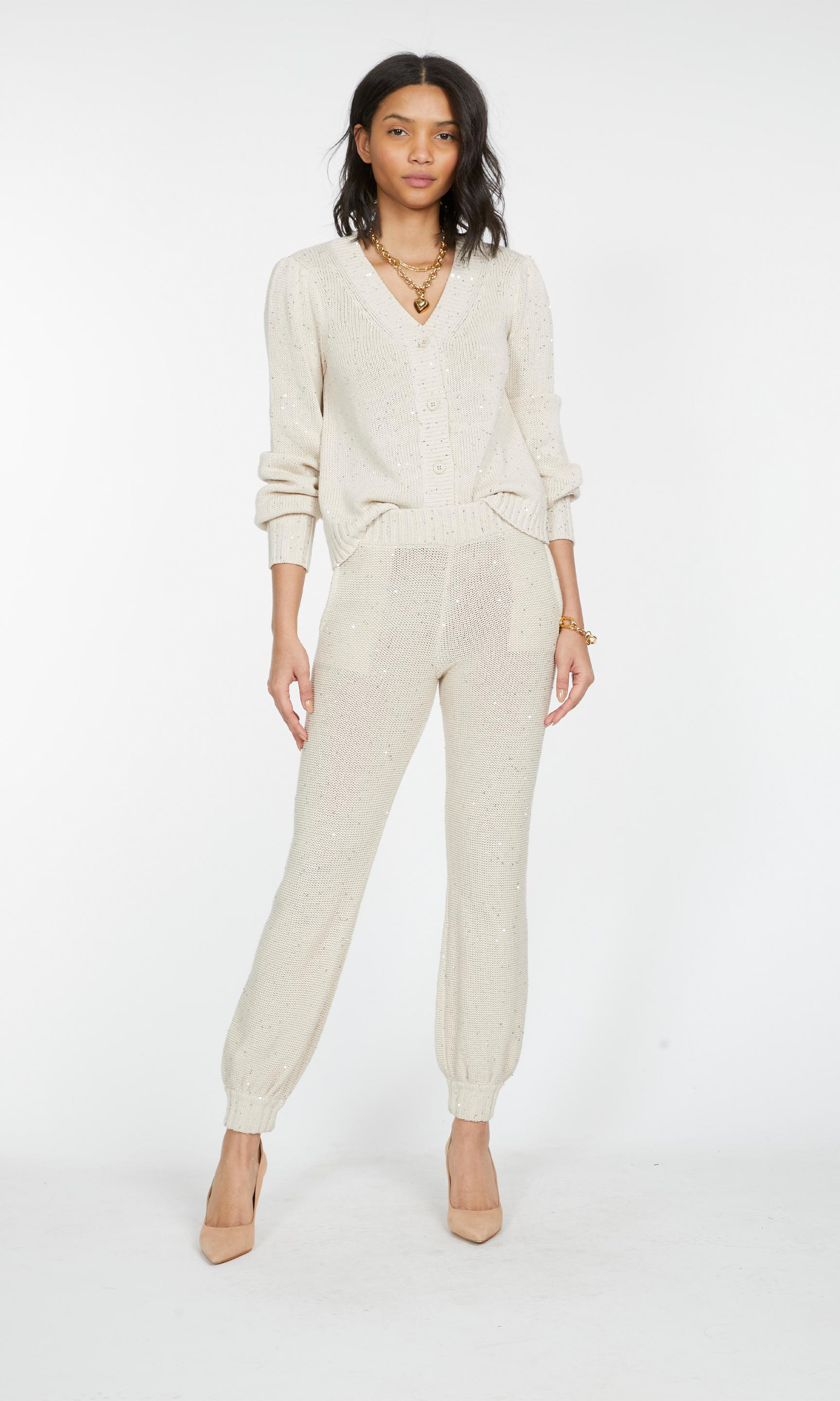 Lowell Sequin Knitted Cardigan 7