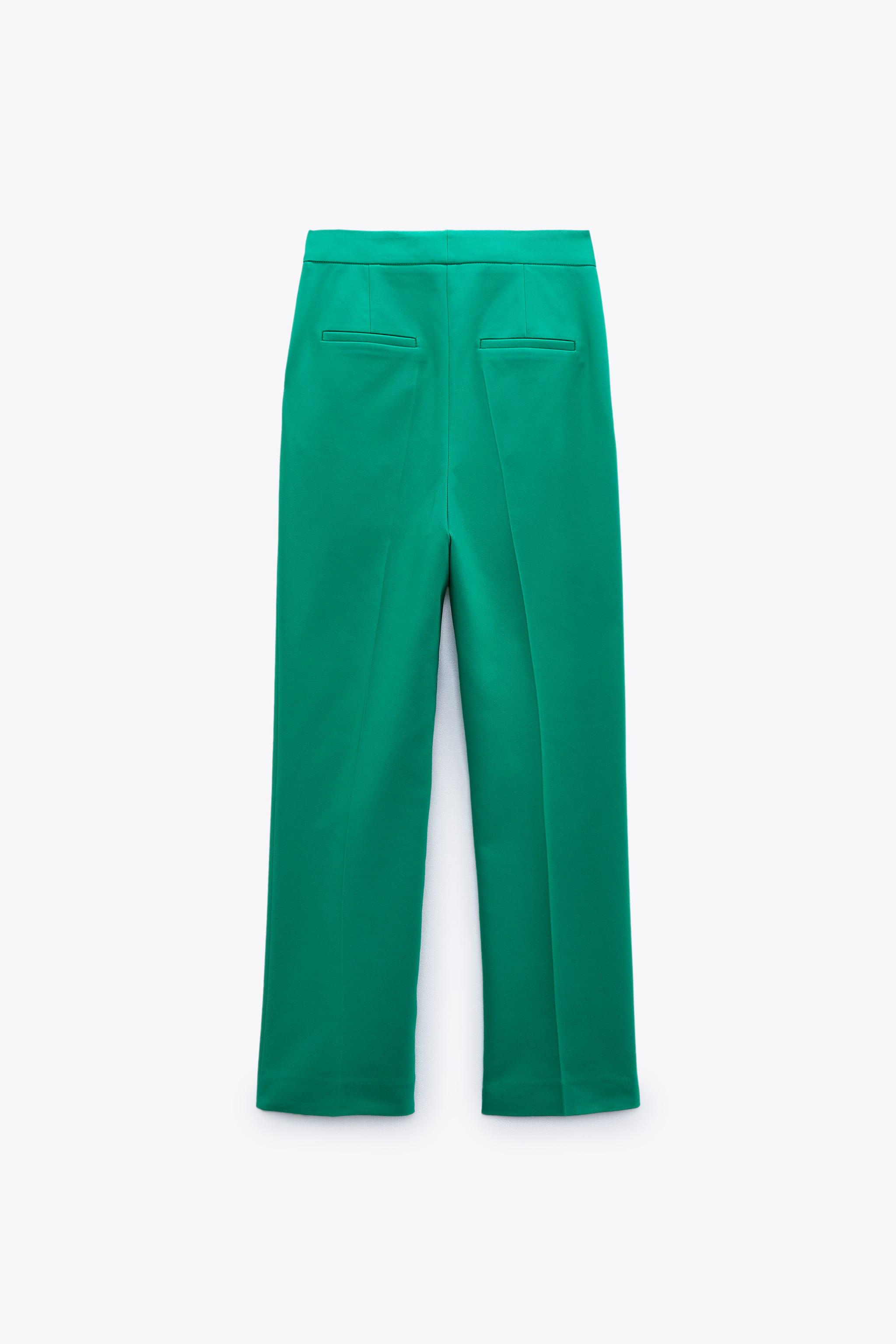 BUTTONED HIGH-WAISTED PANTS 2
